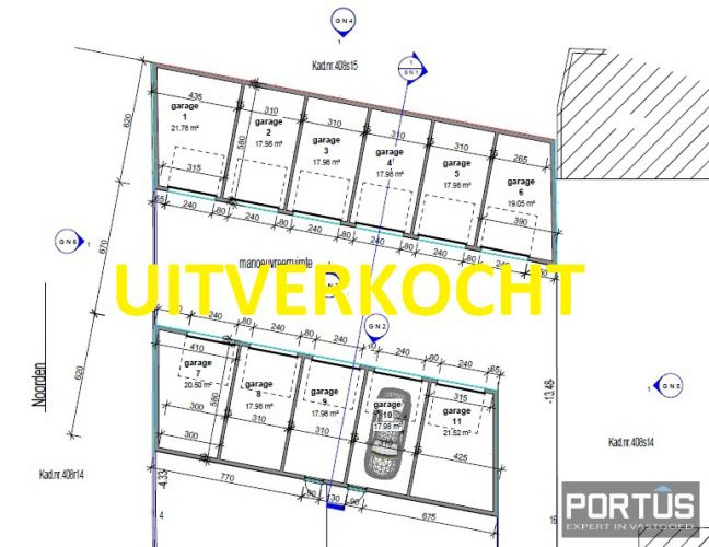 Garagecomplex Santhovenstraat Lombardsijde - 793