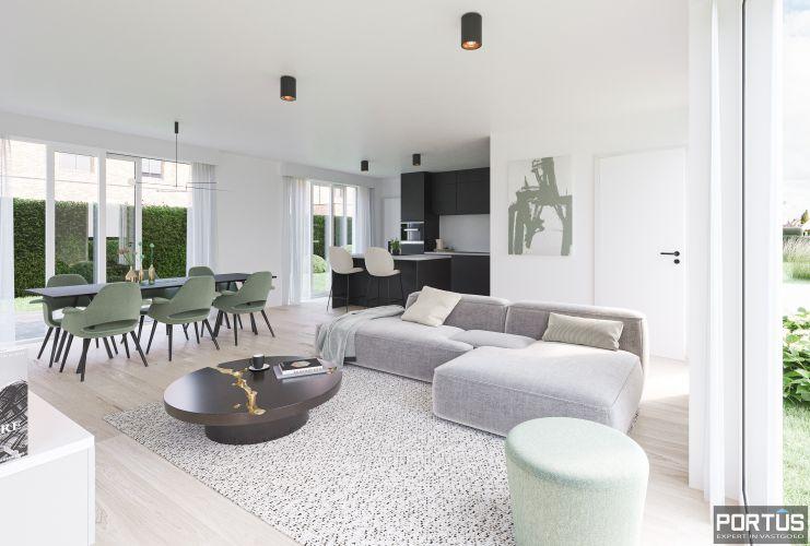 Moderne nieuwbouwwoningen met 3 slaapkamers te koop te Lombardsijde  850