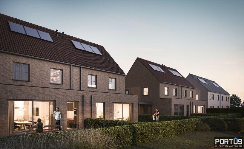 Moderne nieuwbouwwoningen met 3 slaapkamers te koop te Lombardsijde  851