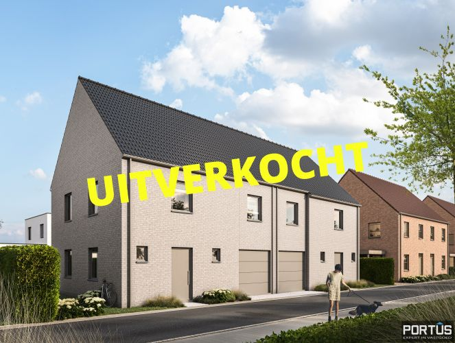 Moderne nieuwbouwwoningen met 3 slaapkamers te koop te Lombardsijde  884