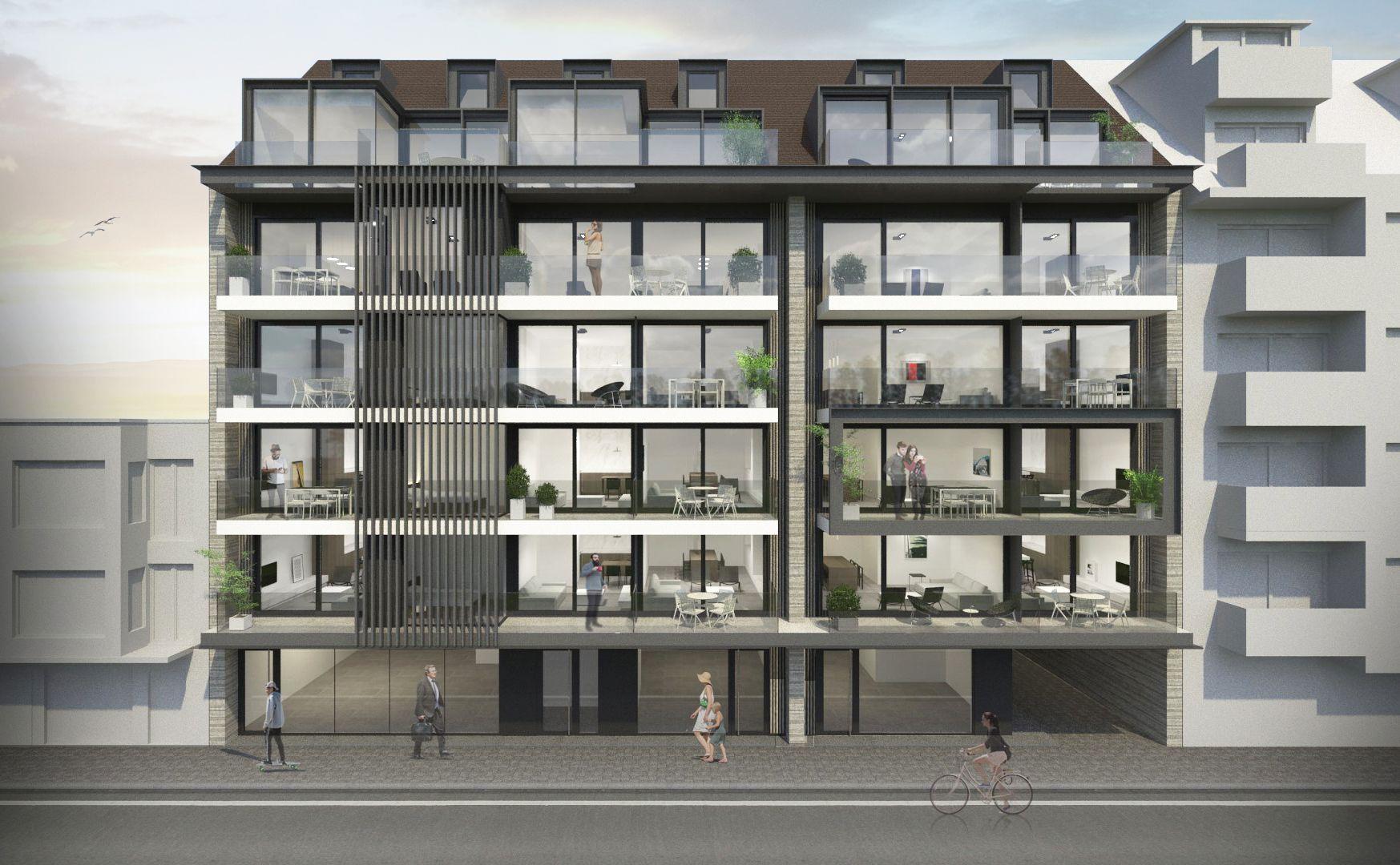 Duplex-appartement met 2 slaapkamers