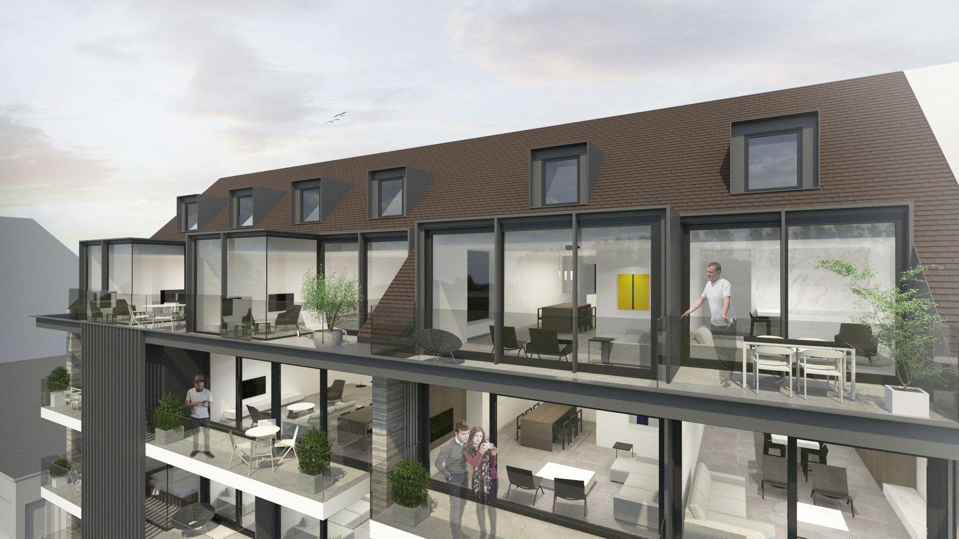 Duplex-appartement met 2 slaapkamers - 8678
