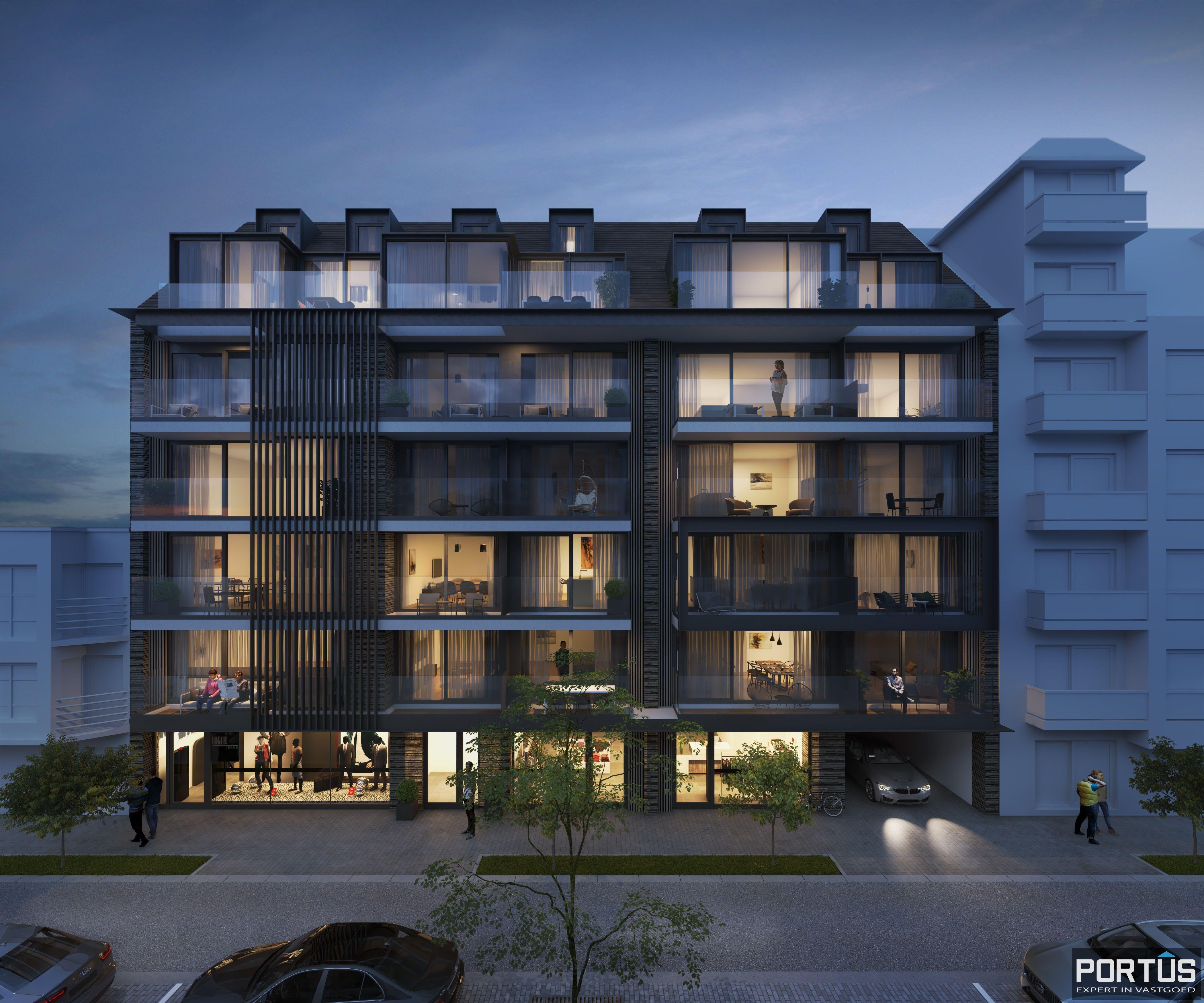 Duplex-appartement met 2 slaapkamers - 9021