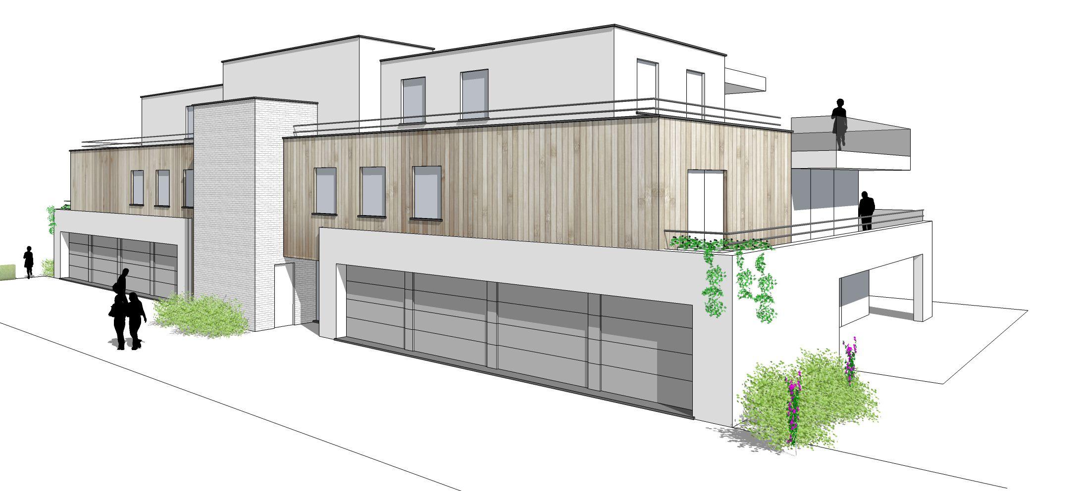 Ruime garage te koop residentie Marie-Louis - 8720