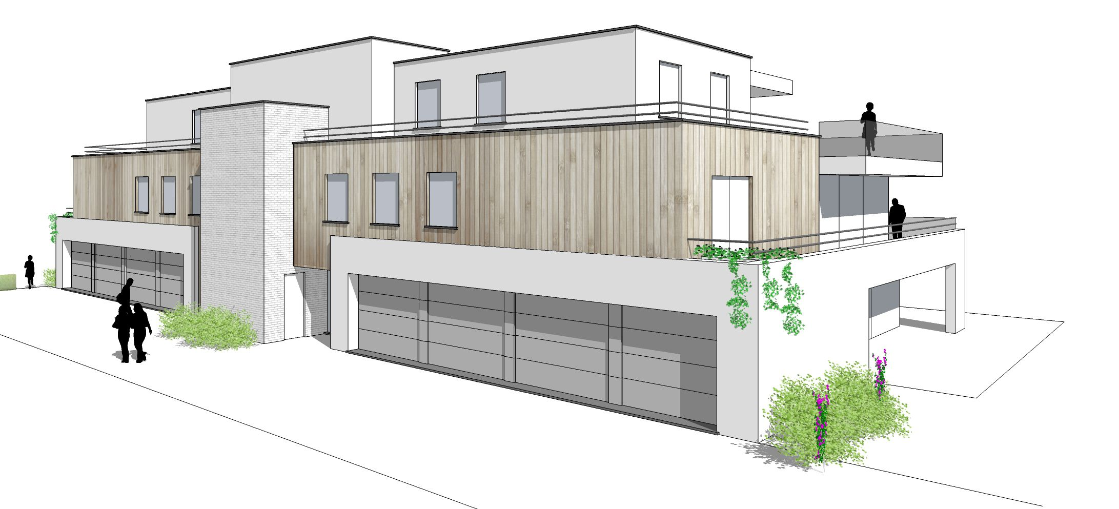 Ruime garage te koop residentie Marie-Louis - 8724