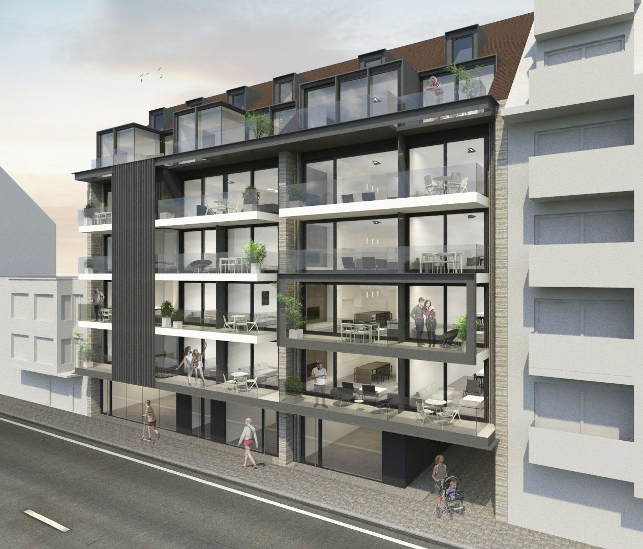 Appartement te koop Nieuwpoort met 2 slaapkamers - 8930