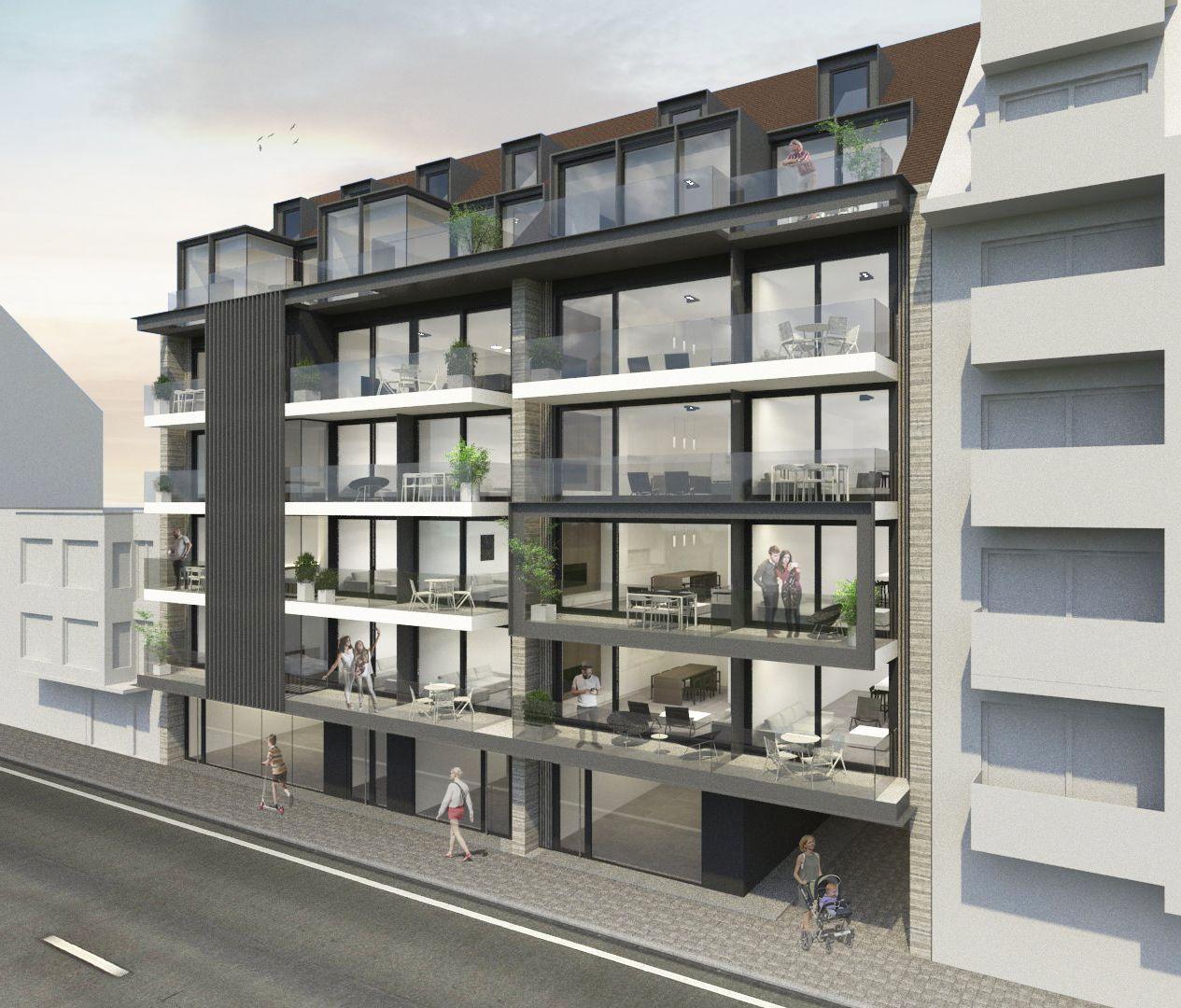 Duplex-appartement met 2 slaapkamers - 9028