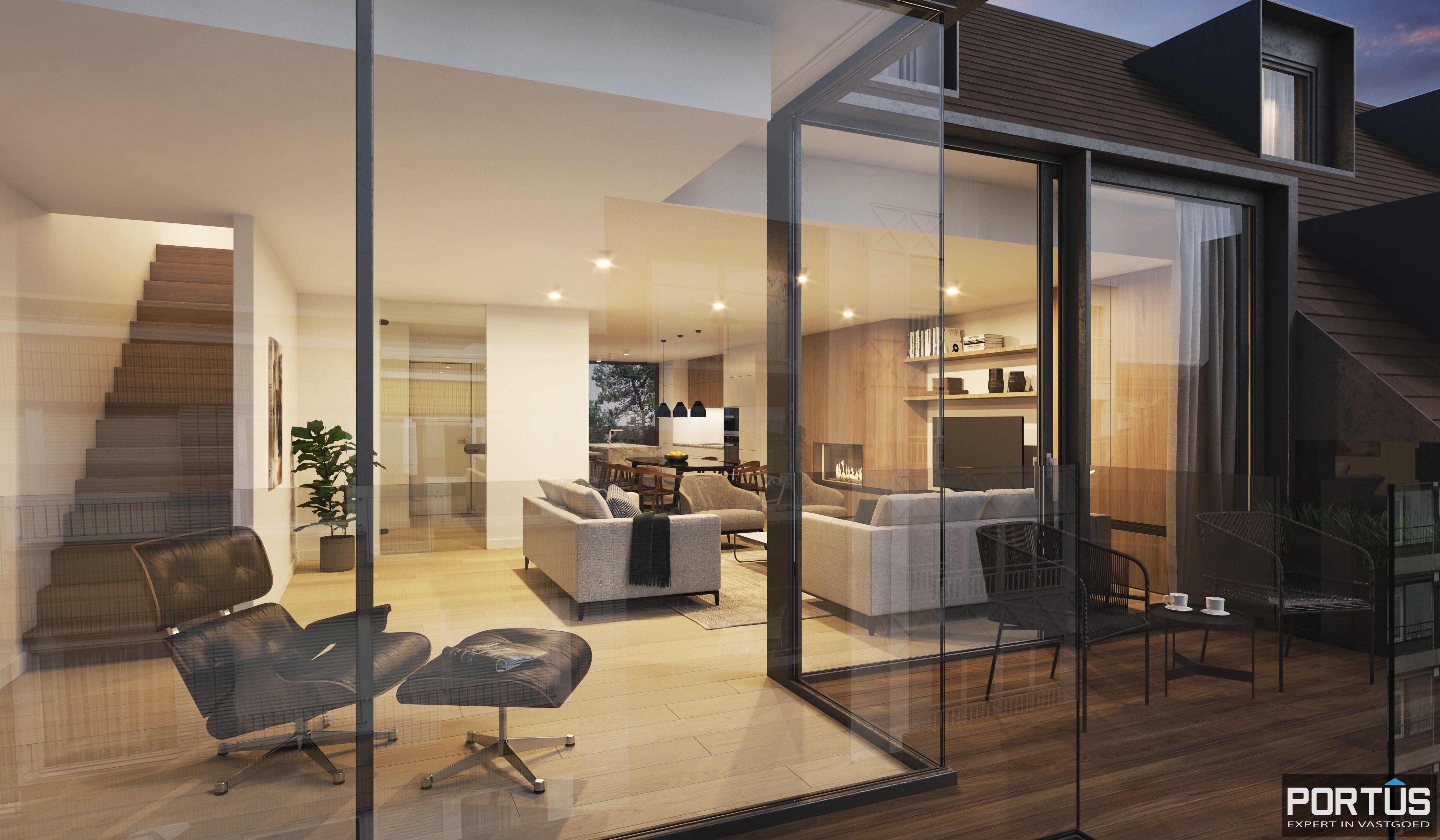Duplex-appartement met 2 slaapkamers - 9033