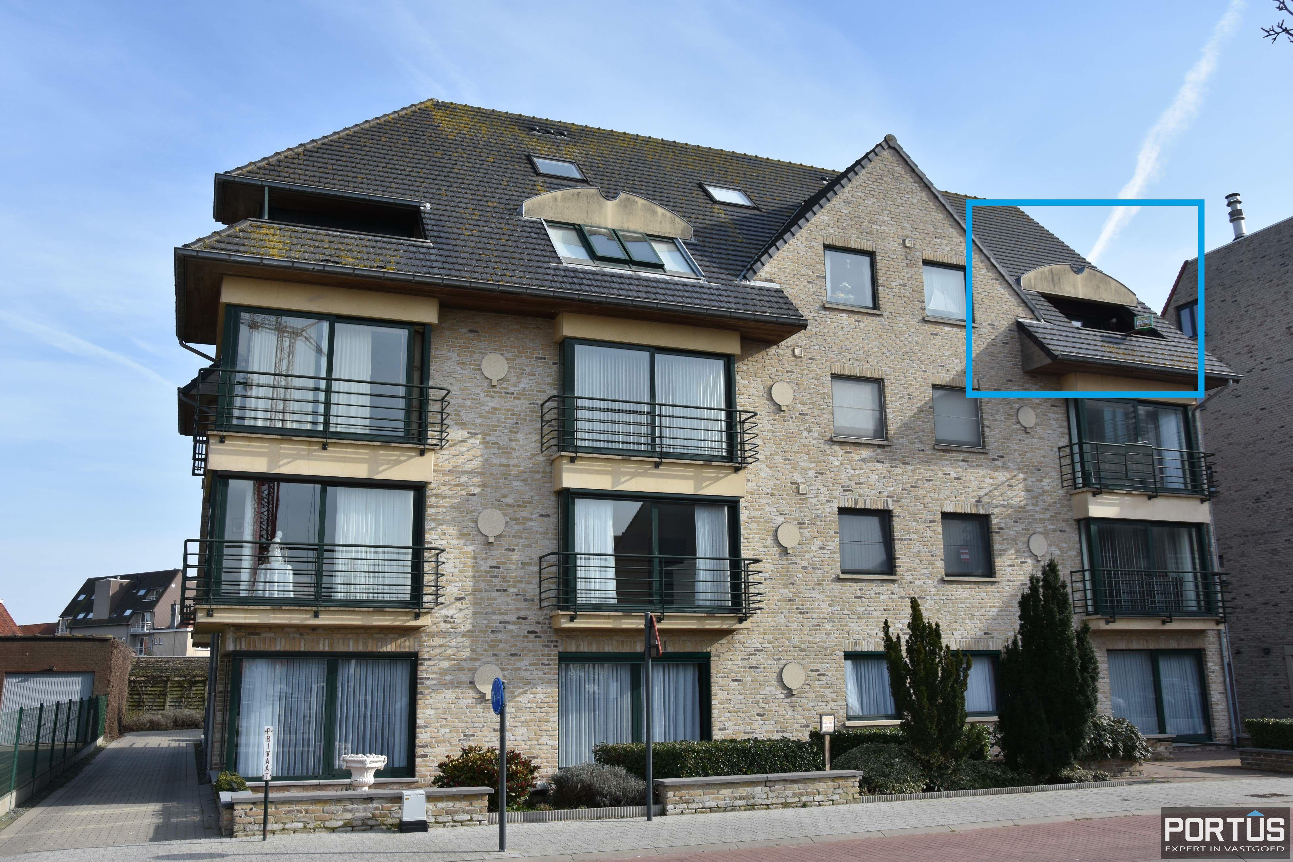 Ruime duplex met 2 slaapkamers en zongericht terras te huur