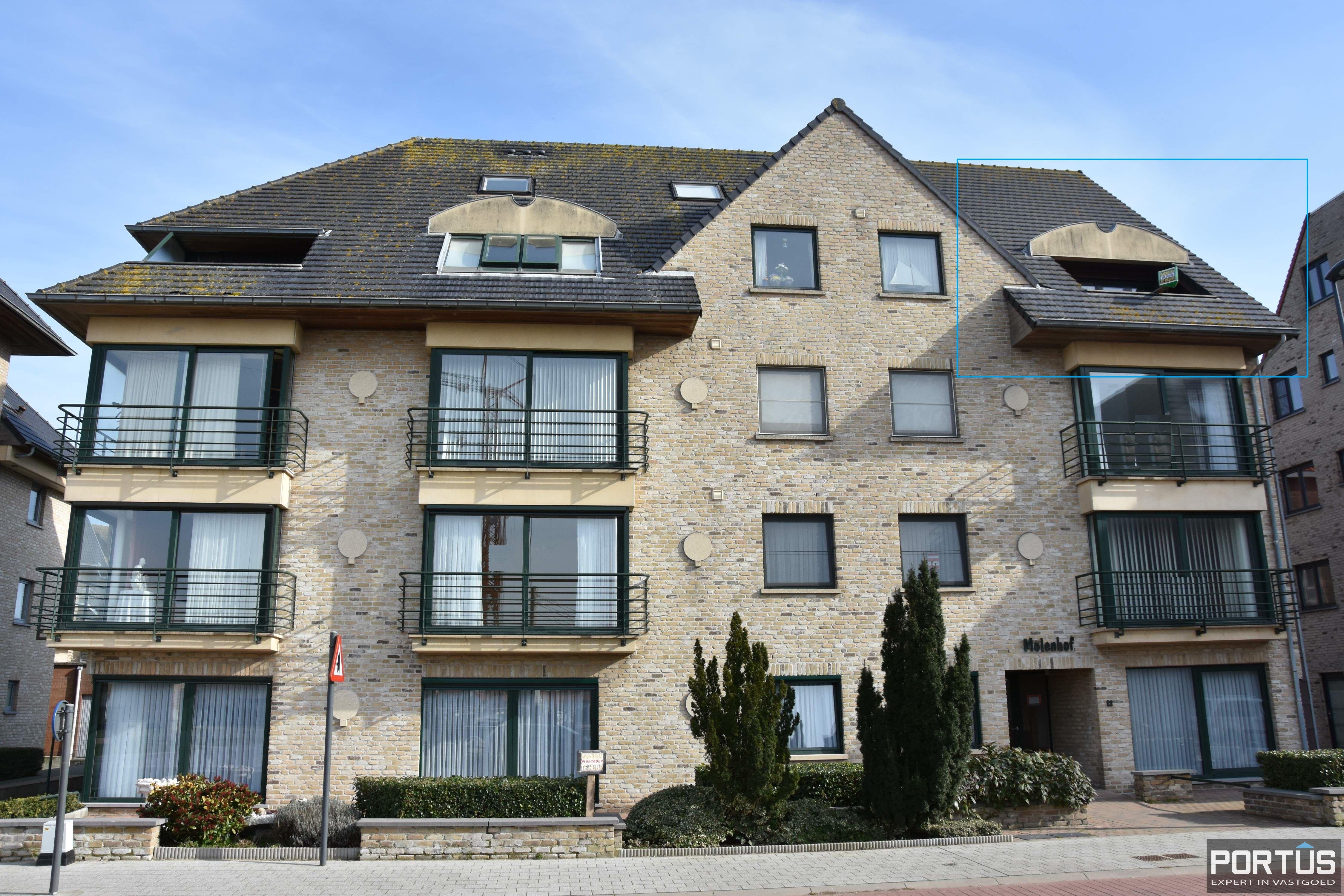 Ruime duplex met 2 slaapkamers en zongericht terras te huur - 9367