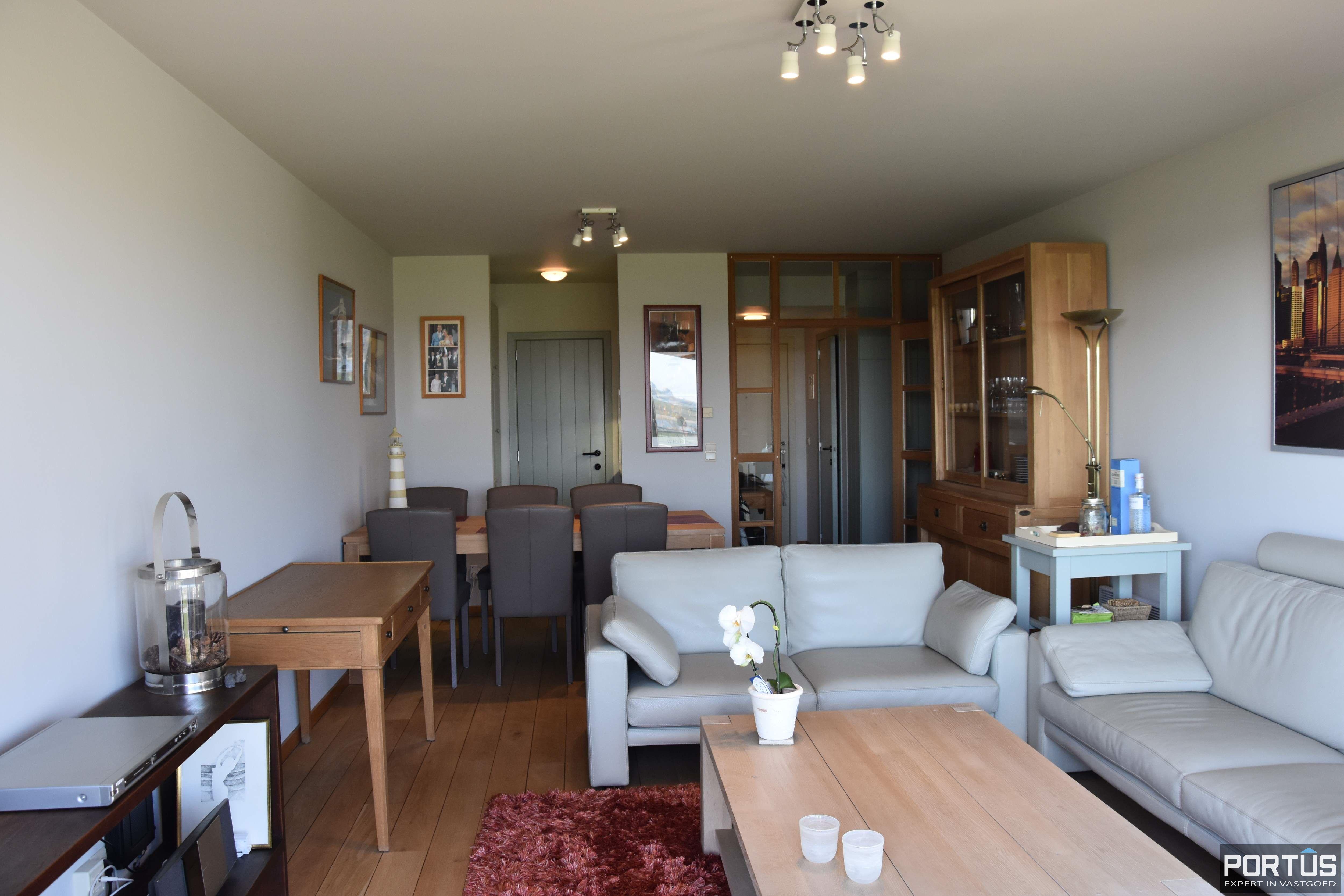 Appartement met slaapkamer, slaaphoek en parking te huur Nieuwpoort - 9527