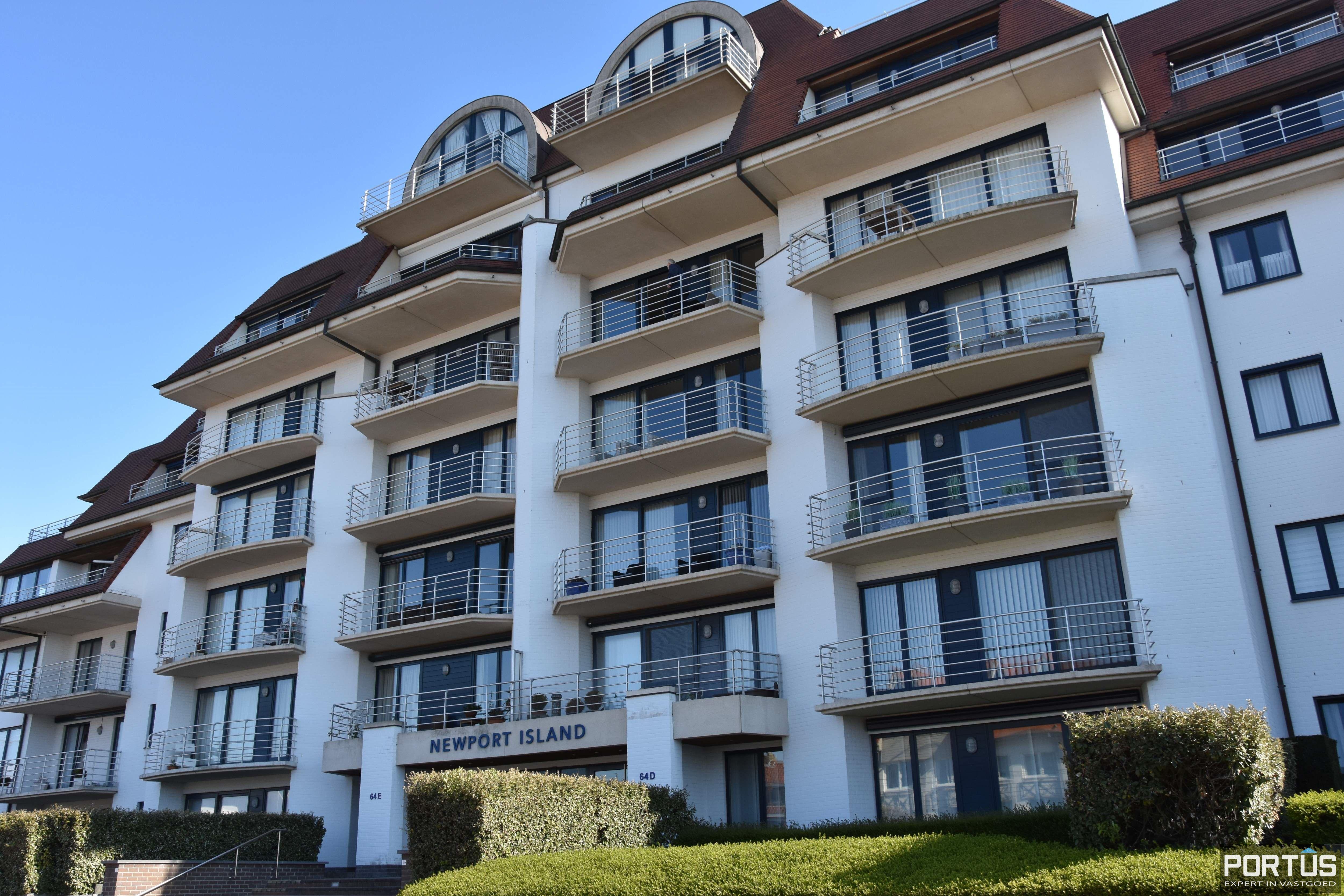 Appartement met slaapkamer, slaaphoek en parking te huur Nieuwpoort - 9532