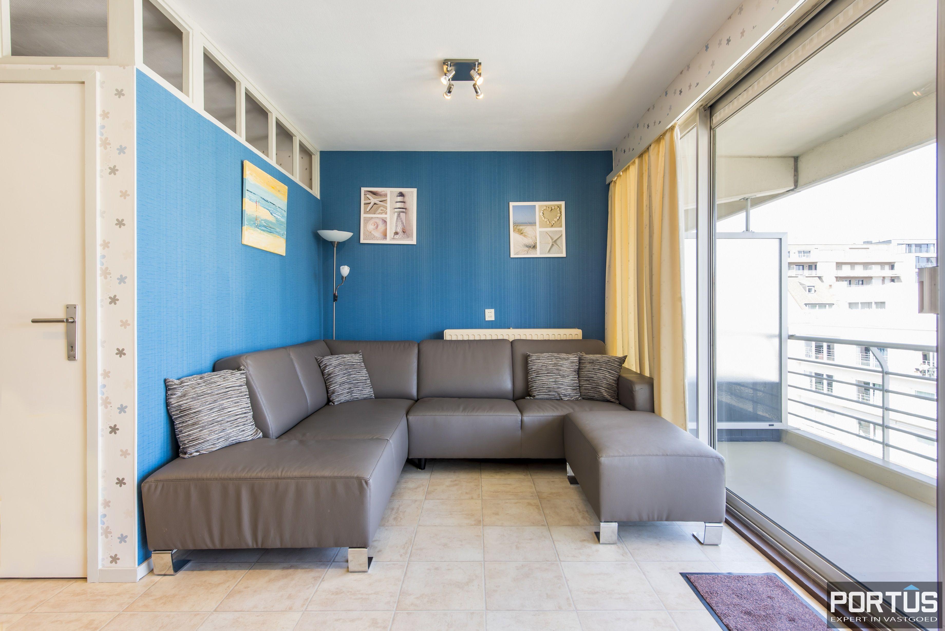 Instapklaar 1 slaapkamer appartement met ruim terras met zijdelings zeezicht te koop - 9548