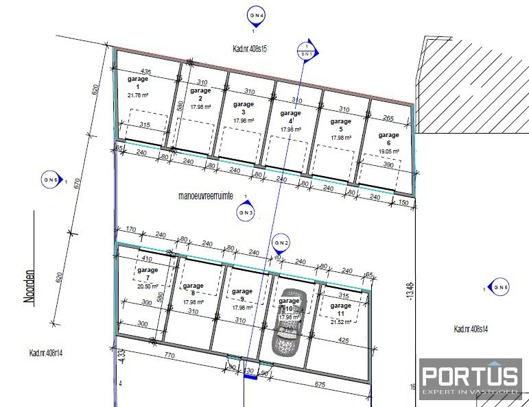 Garage te koop te Lombardsijde - 9671