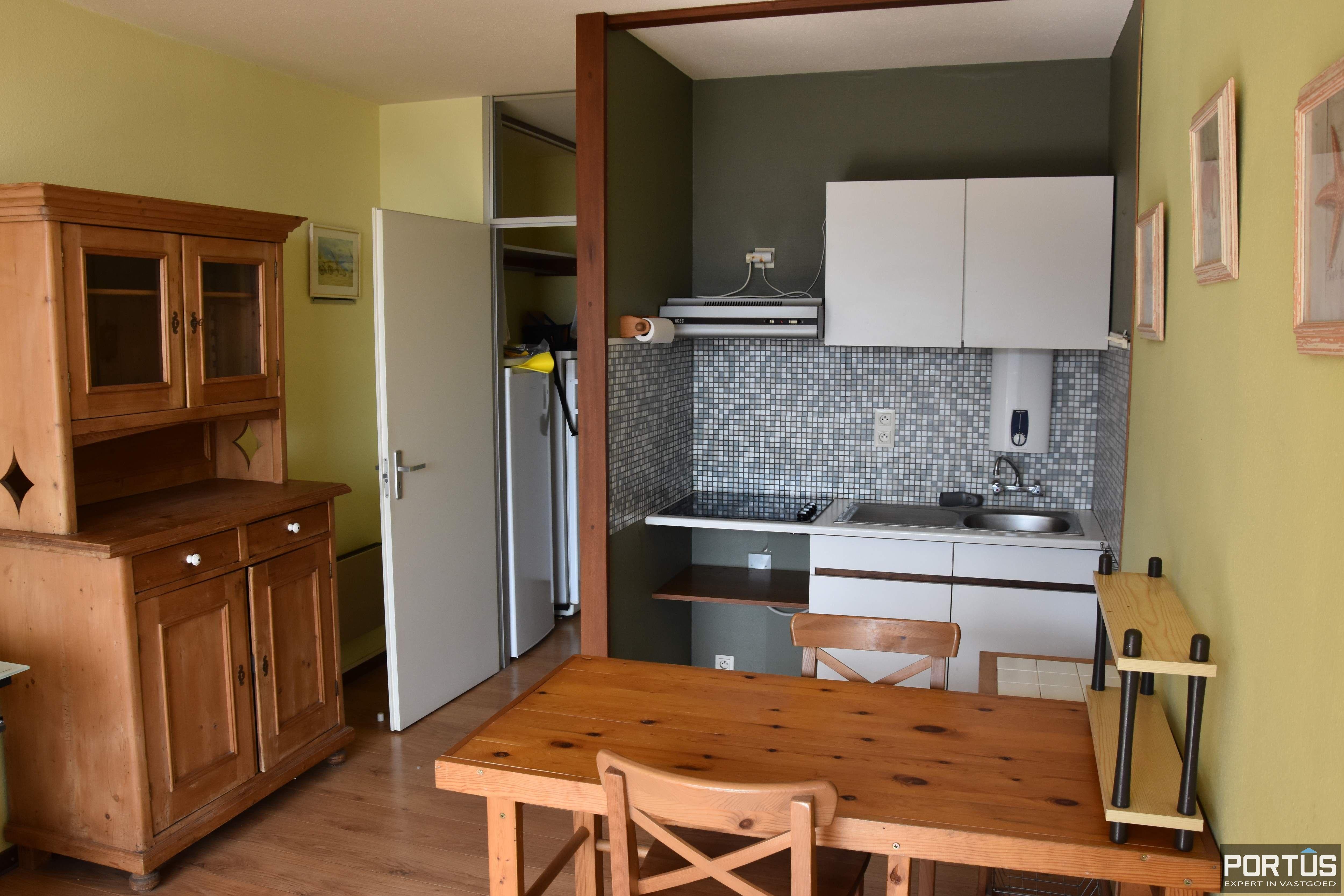 Appartement met staanplaats en berging te huur Nieuwpoort