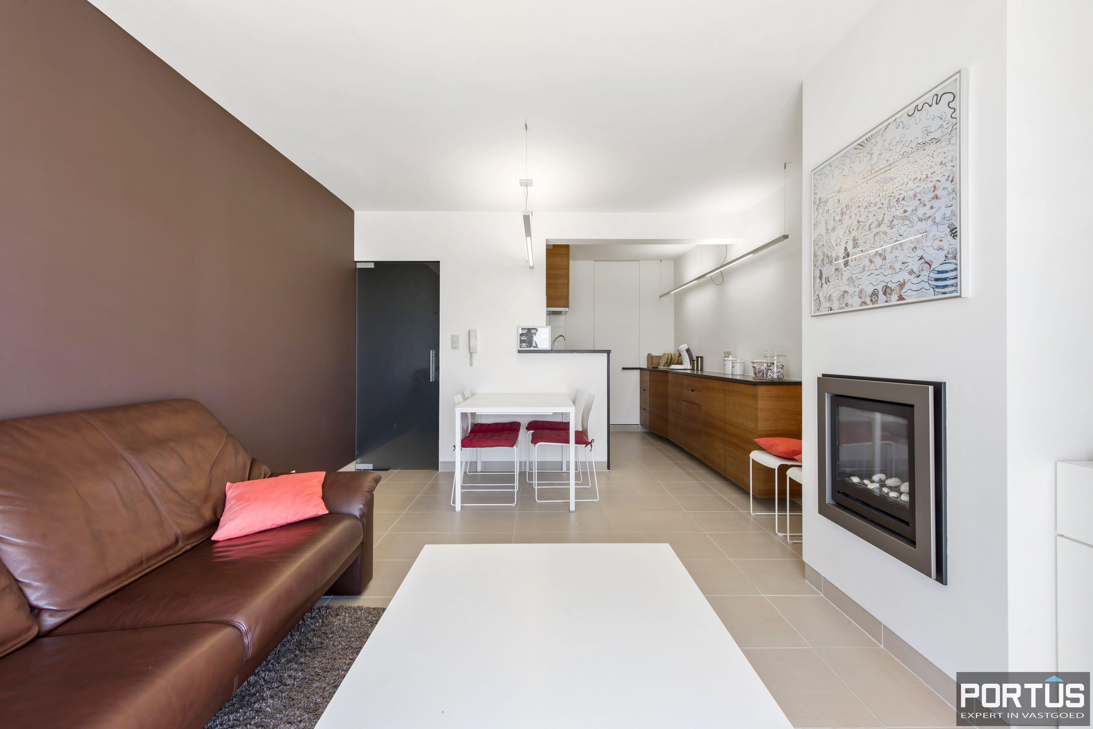 Appartement met 2 slaapkamers en frontaal zeezicht te koop Nieuwpoort - 9772