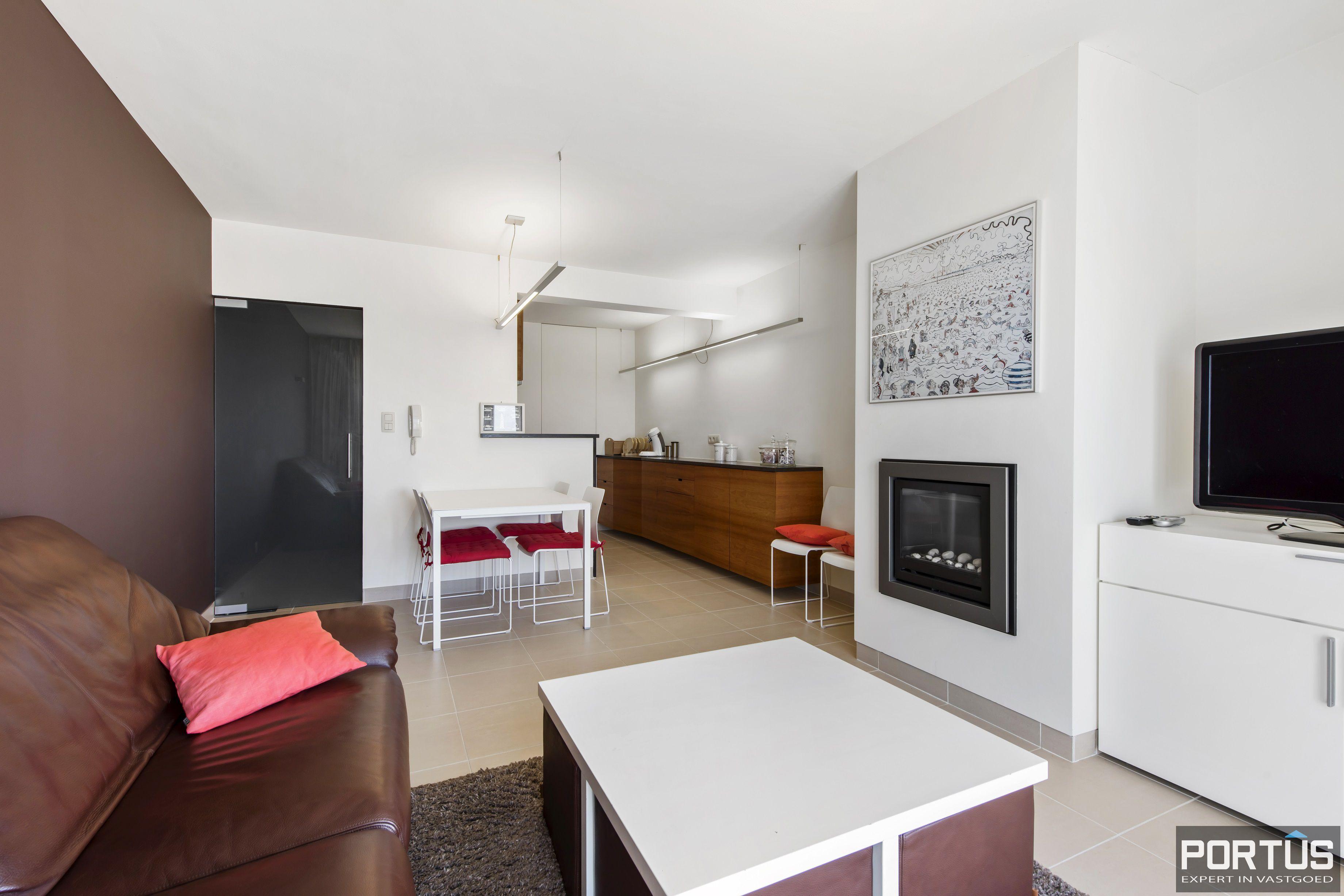 Appartement met 2 slaapkamers en frontaal zeezicht te koop Nieuwpoort - 9773