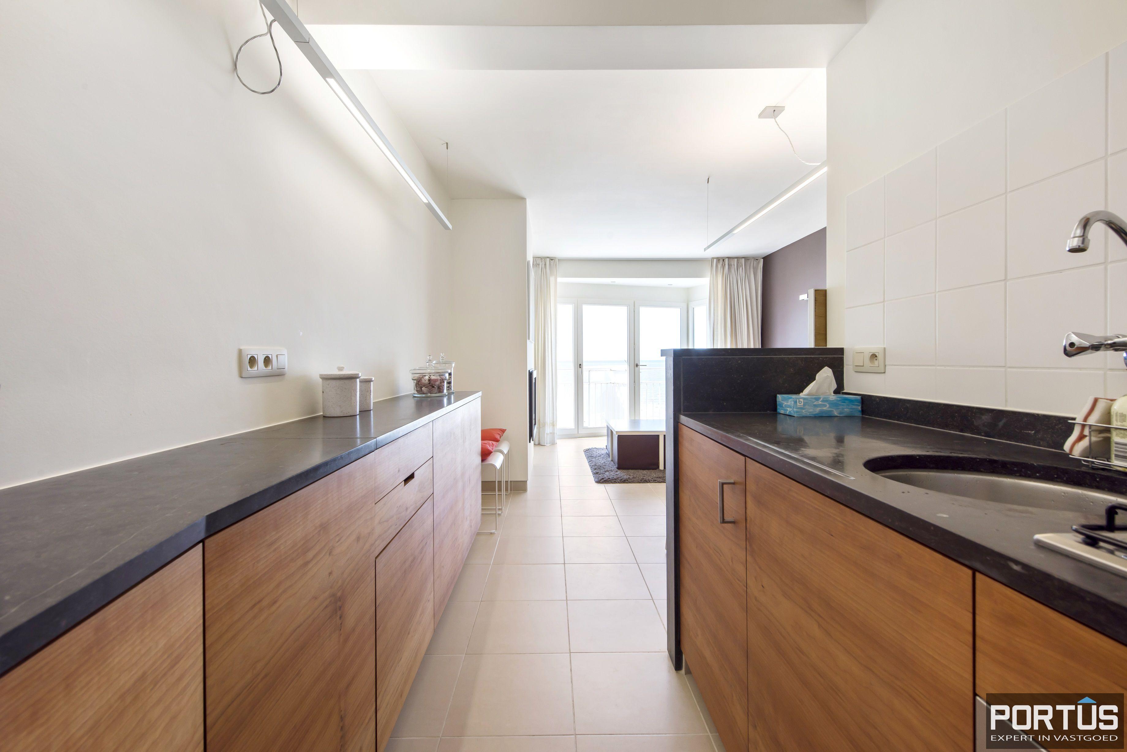 Appartement met 2 slaapkamers en frontaal zeezicht te koop Nieuwpoort - 9776