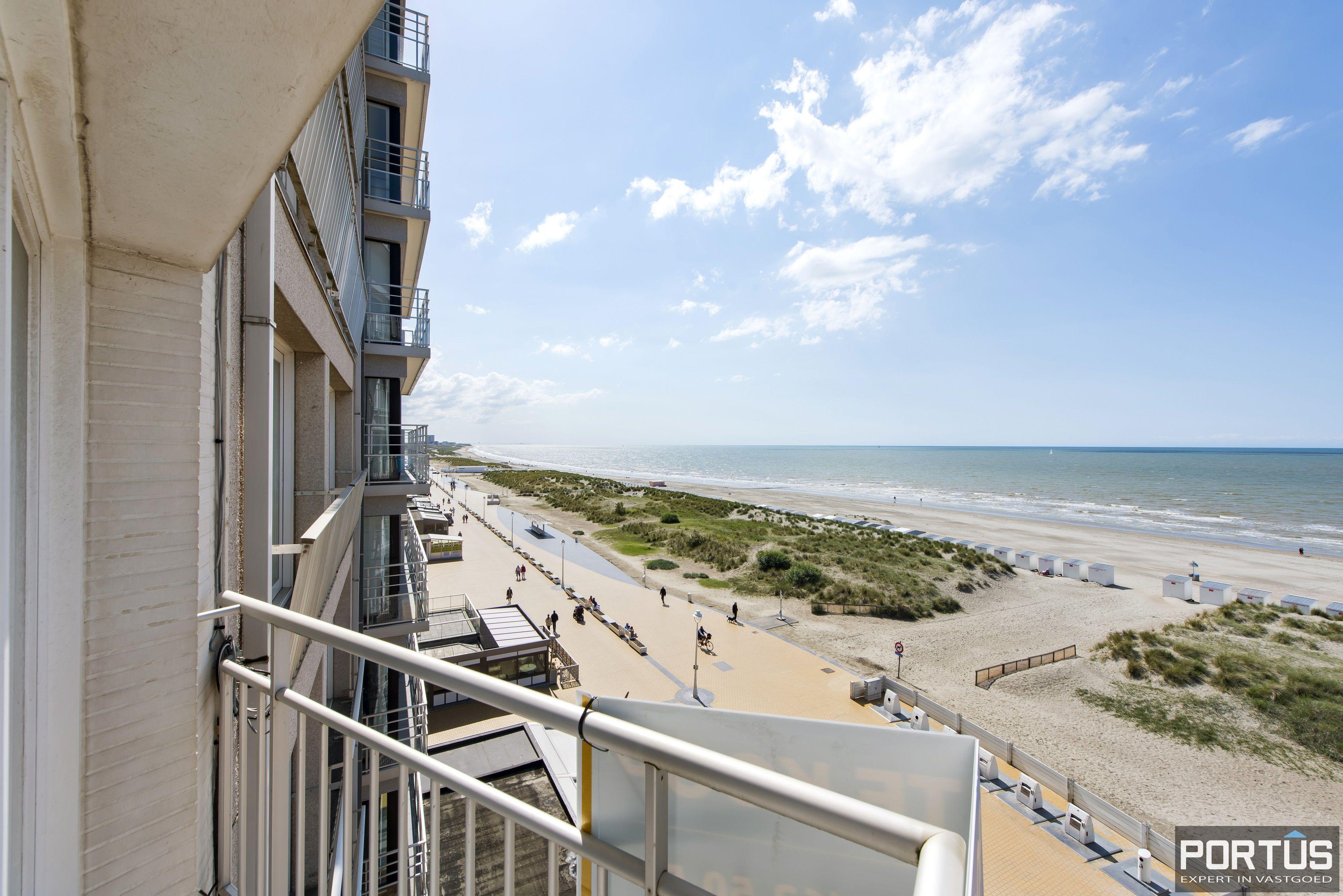 Appartement met 2 slaapkamers en frontaal zeezicht te koop Nieuwpoort - 9781