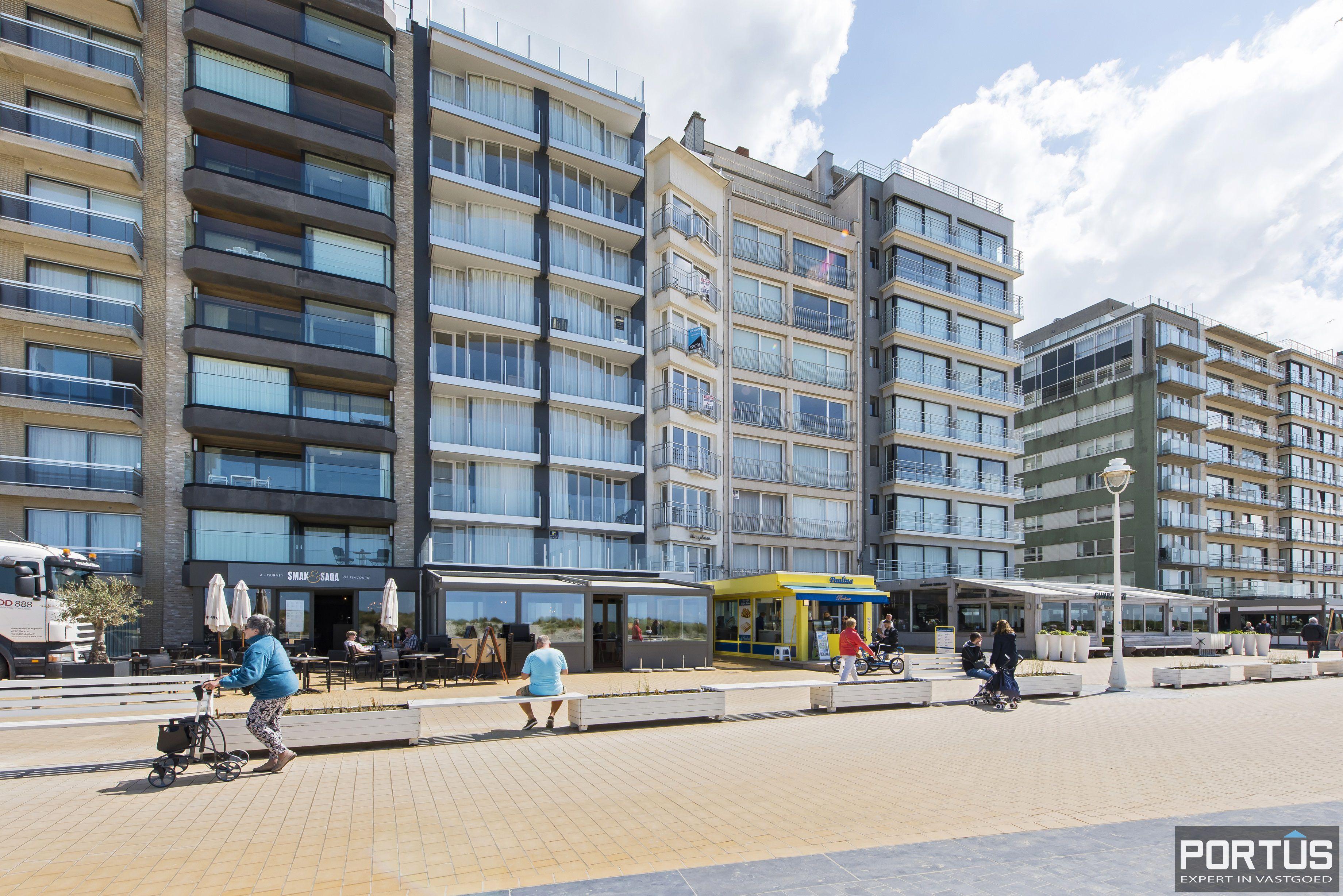 Appartement met 2 slaapkamers en frontaal zeezicht te koop Nieuwpoort - 9782