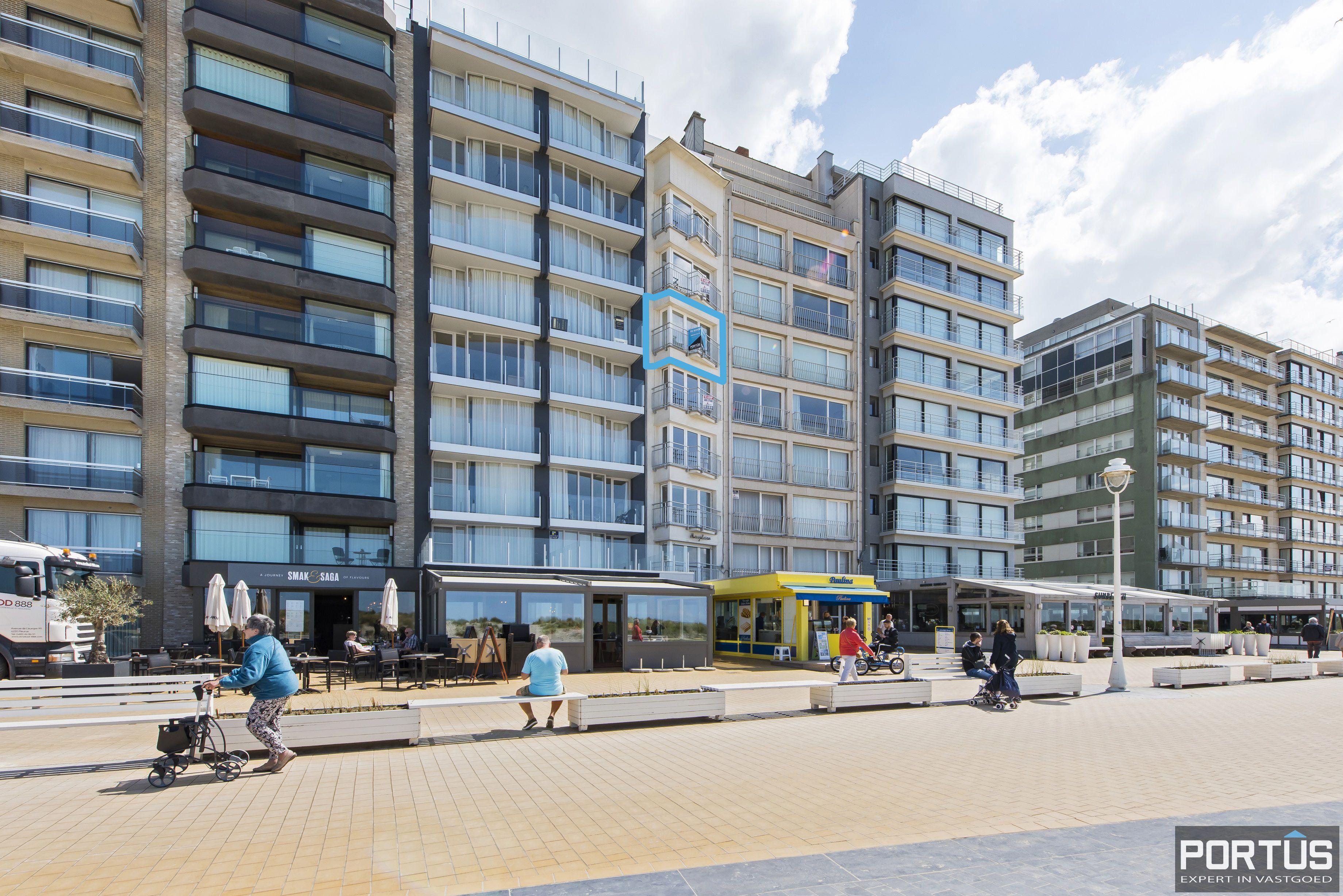 Appartement met 2 slaapkamers en frontaal zeezicht te koop Nieuwpoort - 9783