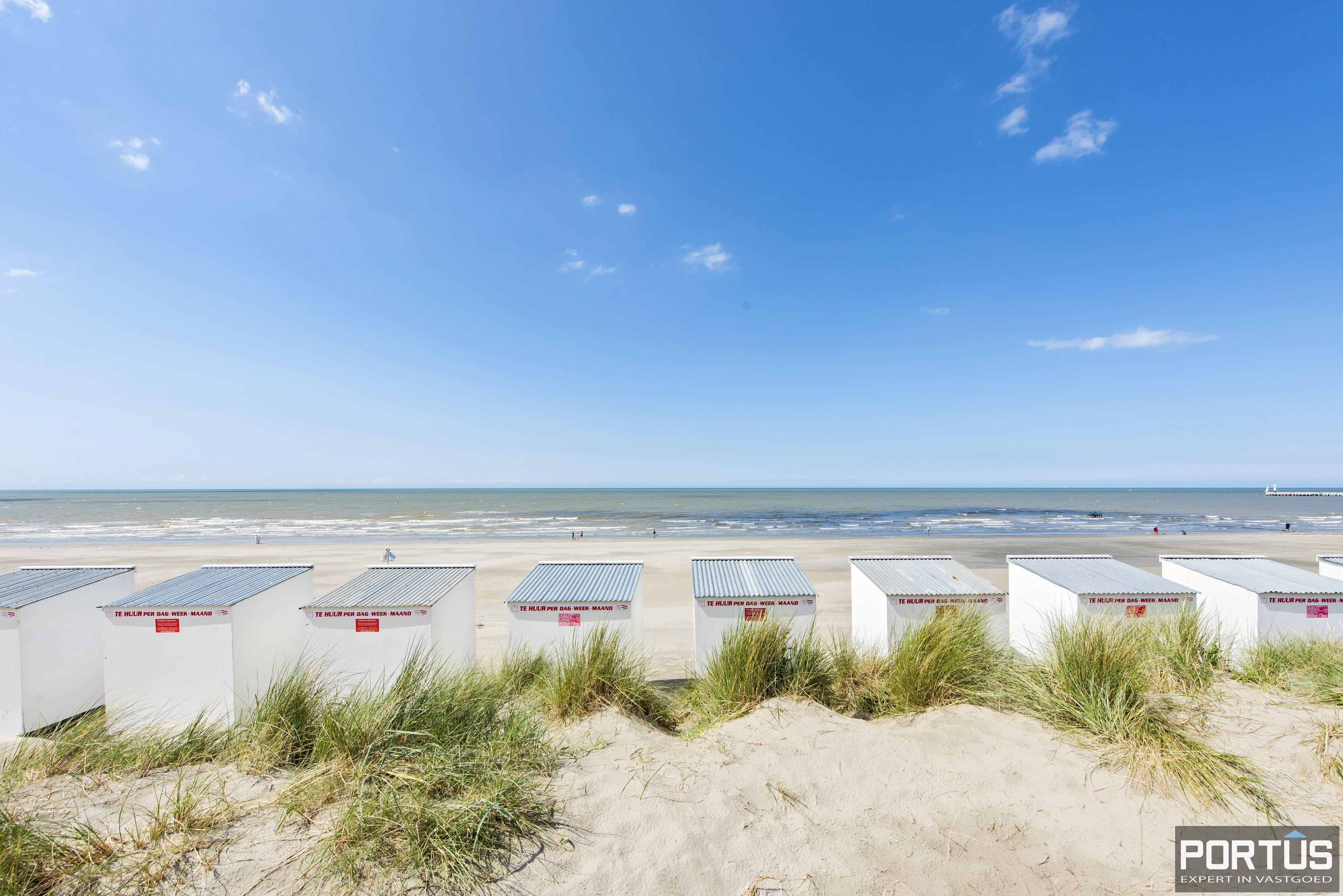 Appartement met 2 slaapkamers en frontaal zeezicht te koop Nieuwpoort - 9786