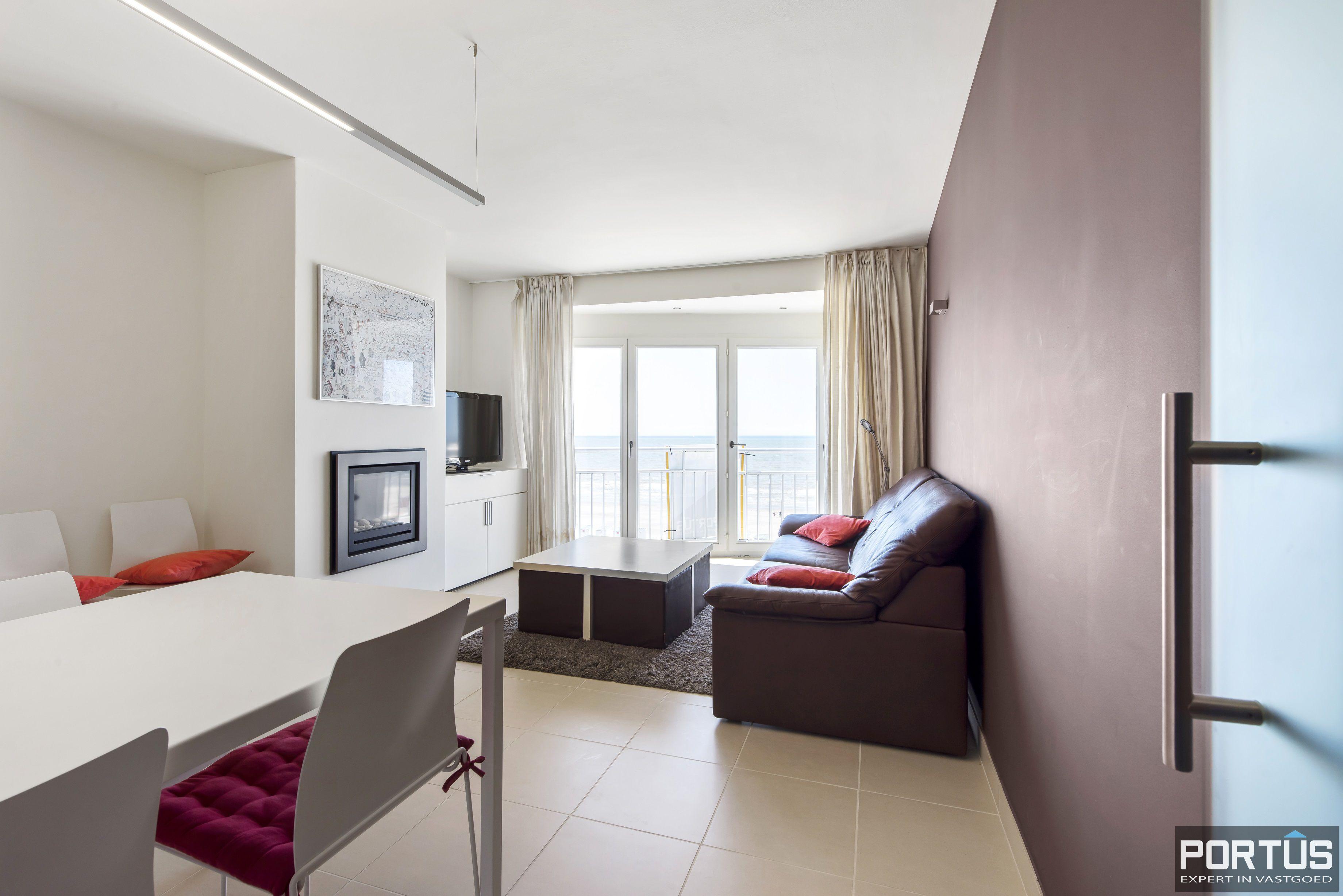 Appartement met 2 slaapkamers en frontaal zeezicht te koop Nieuwpoort - 9787