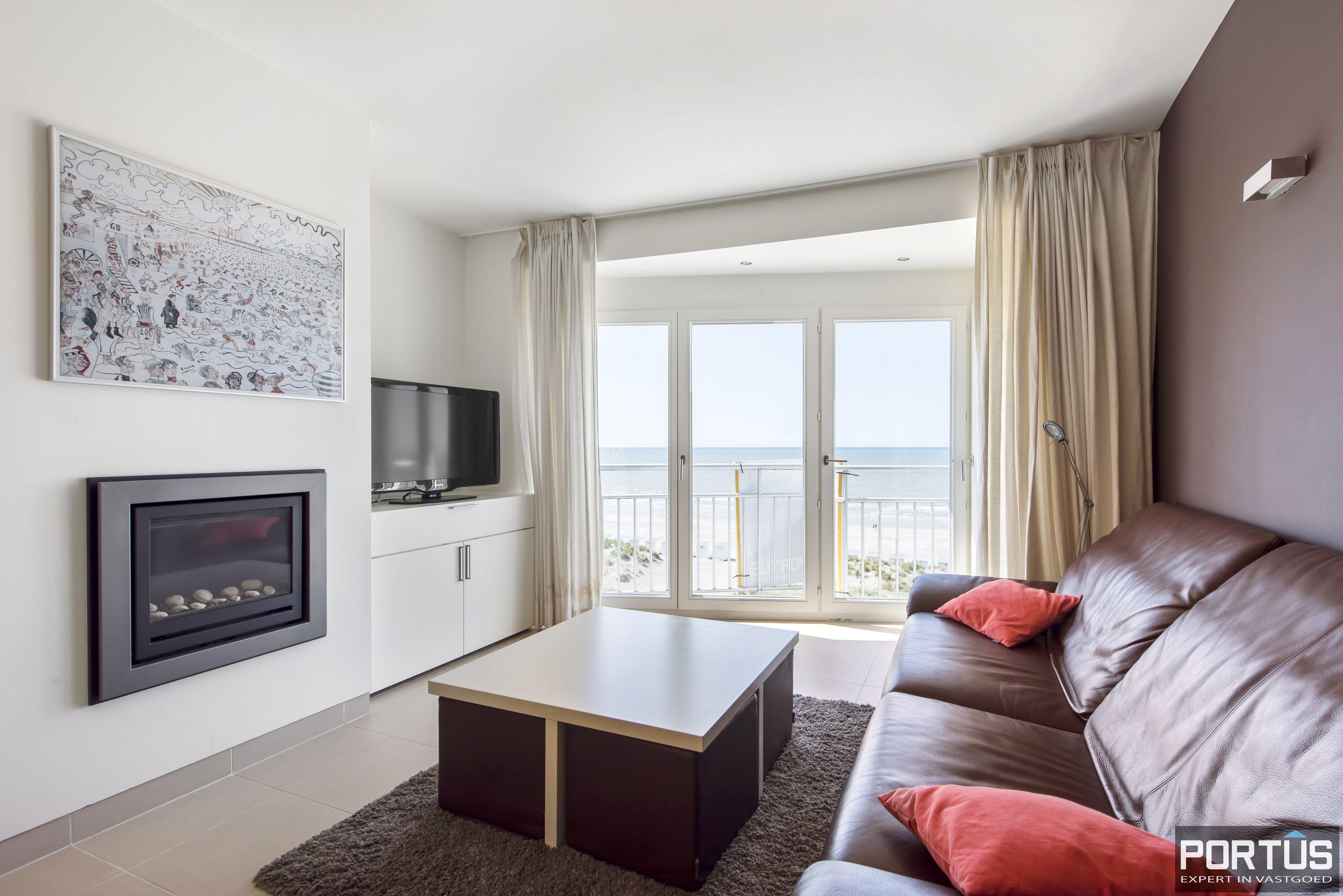 Appartement met 2 slaapkamers en frontaal zeezicht te koop Nieuwpoort - 9788