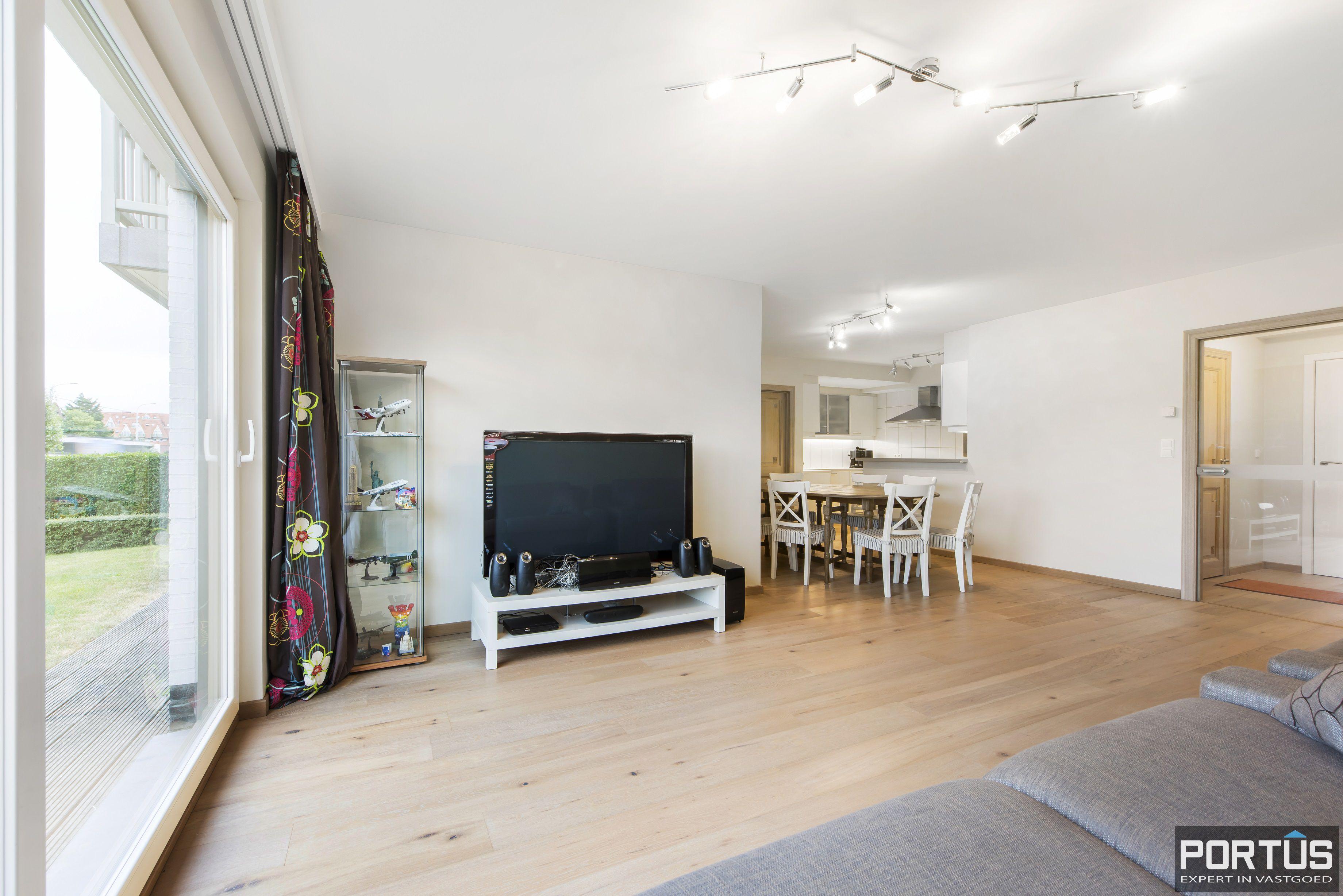 Gelijkvloers appartement te koop met 2 slaapkamers en privé tuin - 9833