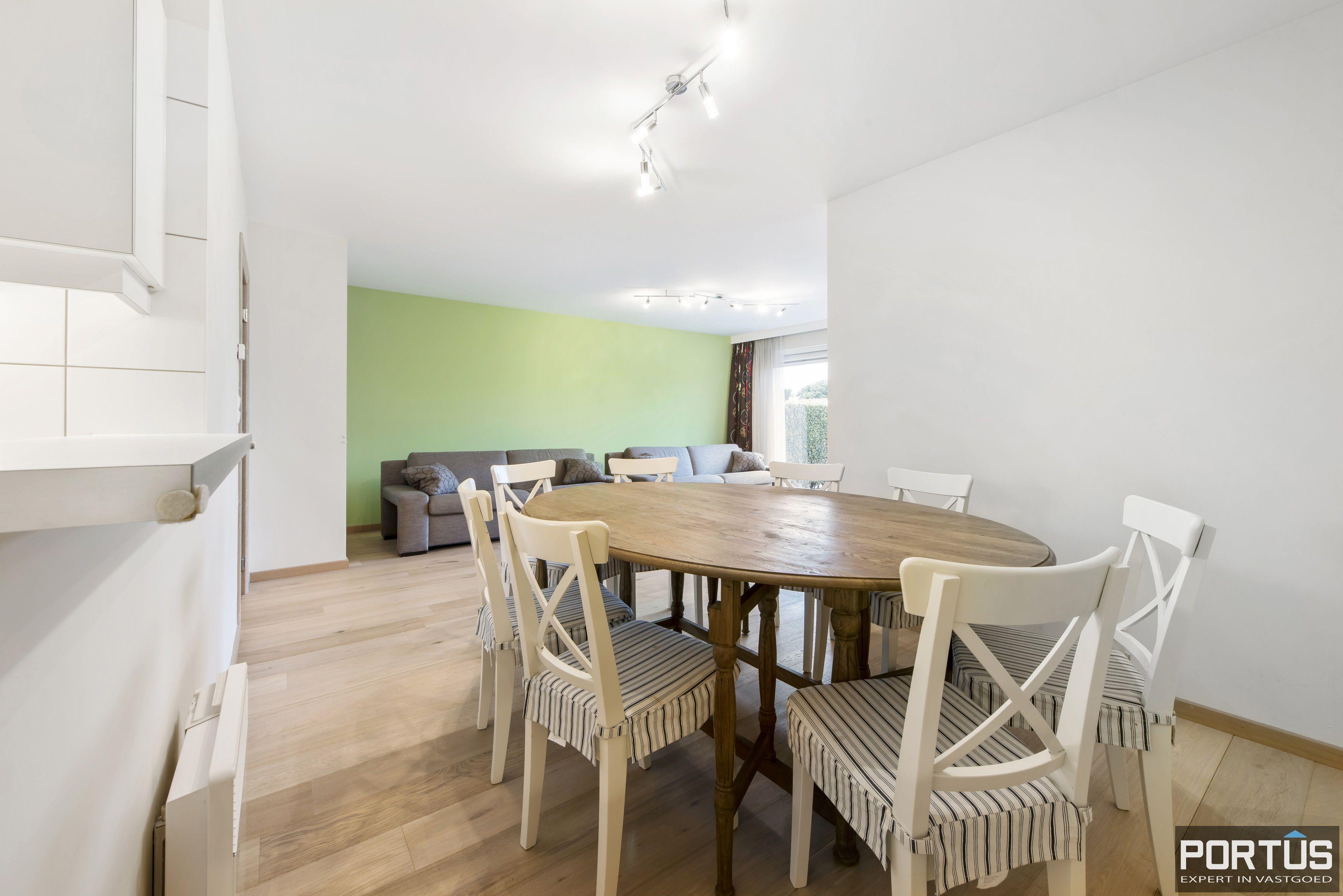 Gelijkvloers appartement te koop met 2 slaapkamers en privé tuin - 9836