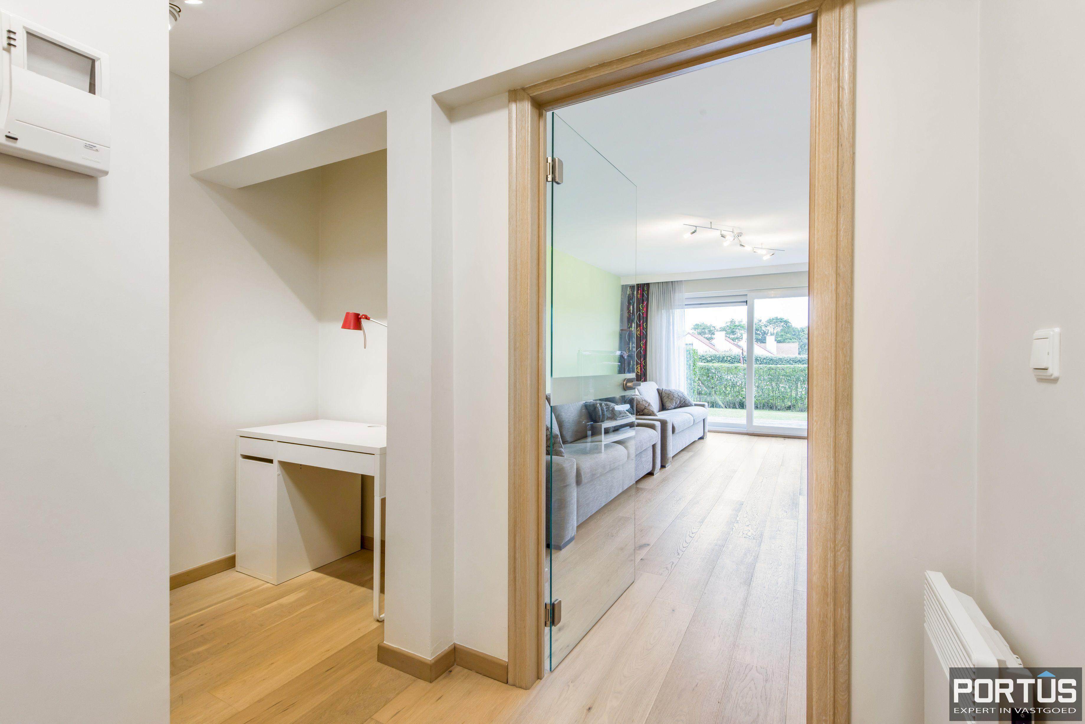 Gelijkvloers appartement te koop met 2 slaapkamers en privé tuin - 9844