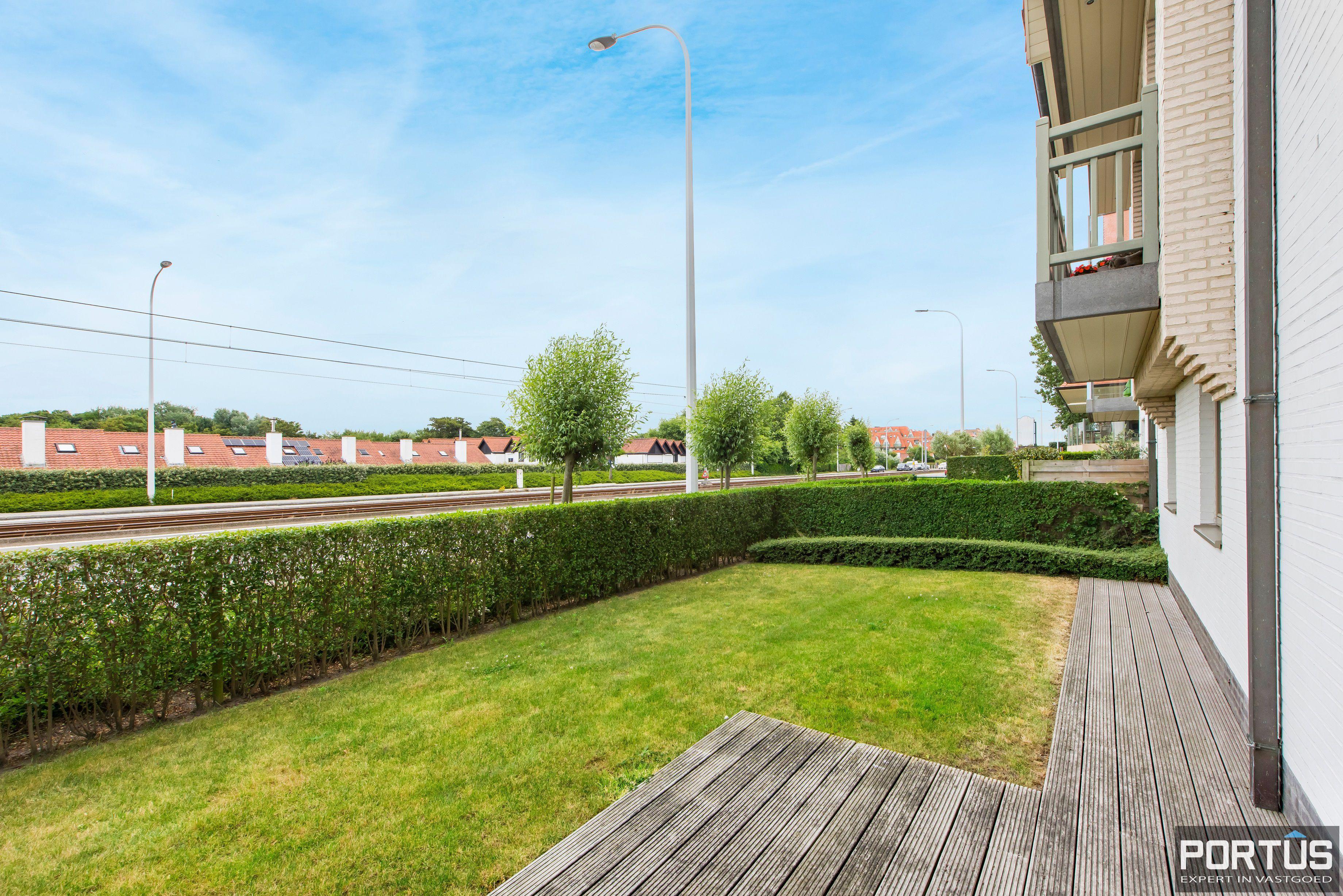 Gelijkvloers appartement te koop met 2 slaapkamers en privé tuin - 9845