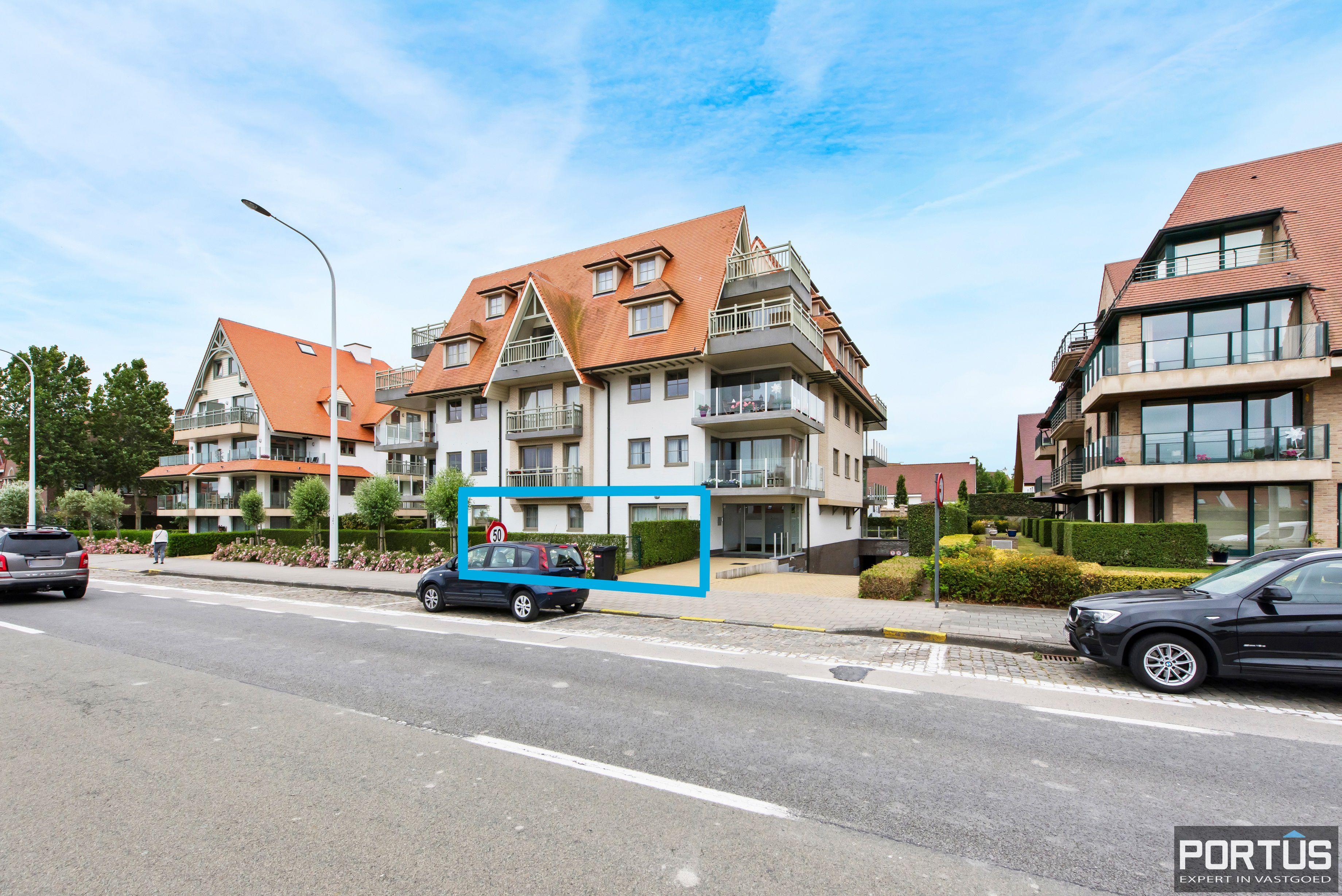 Gelijkvloers appartement te koop met 2 slaapkamers en privé tuin - 9847