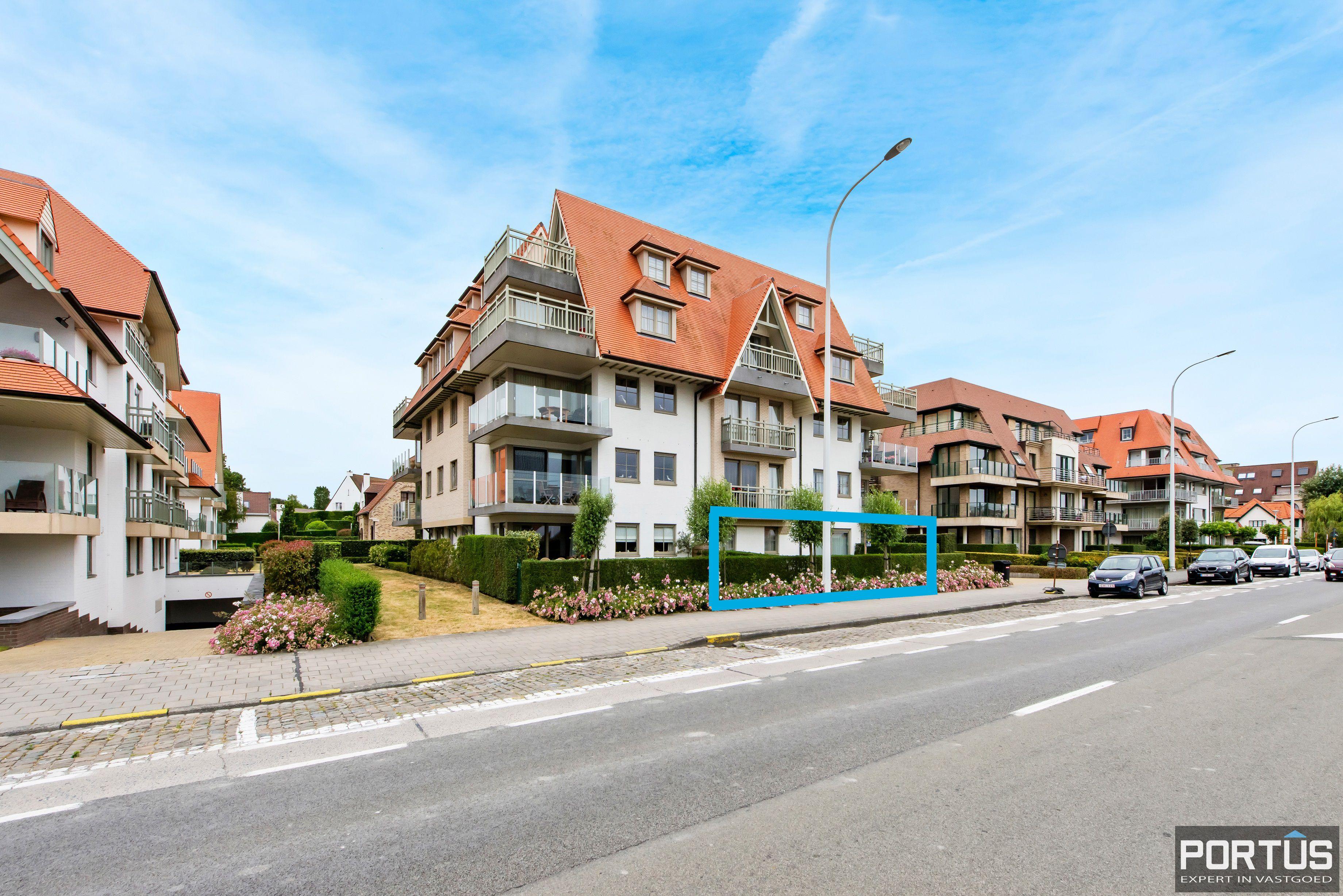 Gelijkvloers appartement te koop met 2 slaapkamers en privé tuin - 9849