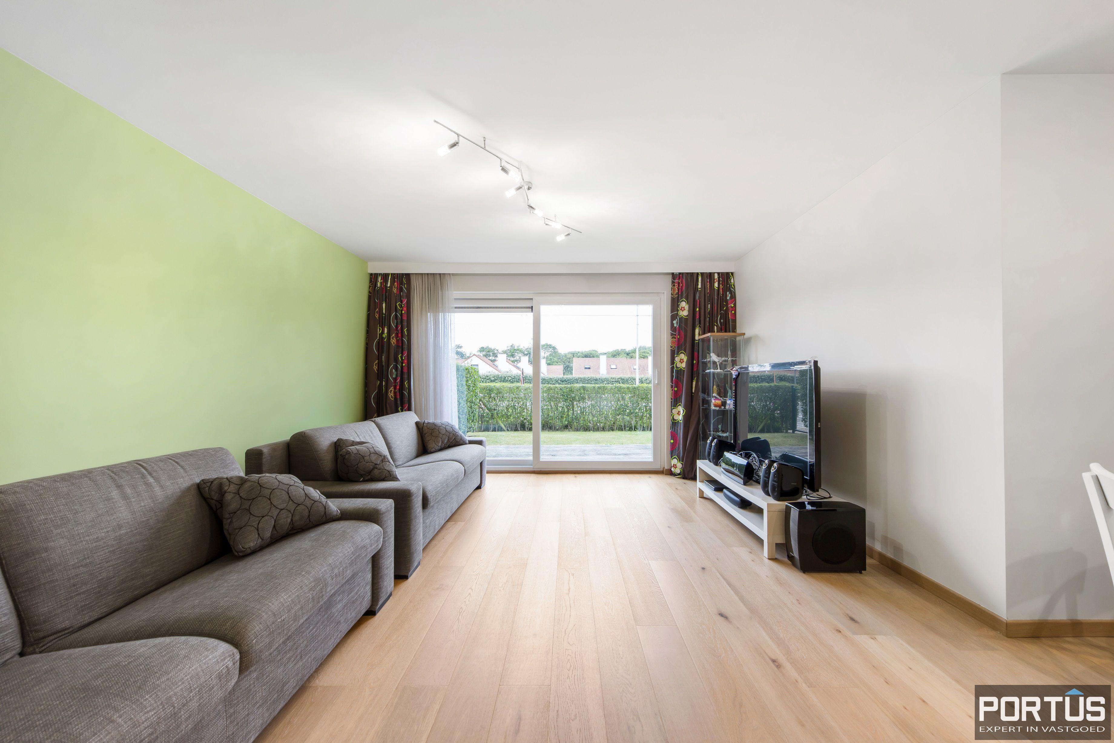 Gelijkvloers appartement te koop met 2 slaapkamers en privé tuin - 9851