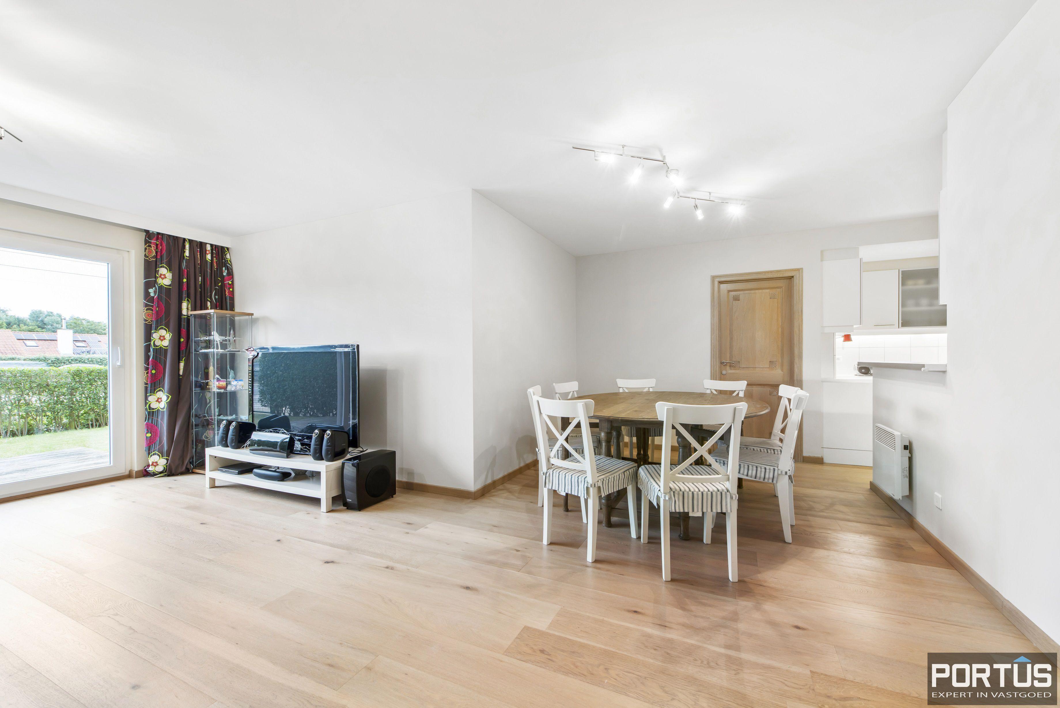 Gelijkvloers appartement te koop met 2 slaapkamers en privé tuin - 9852