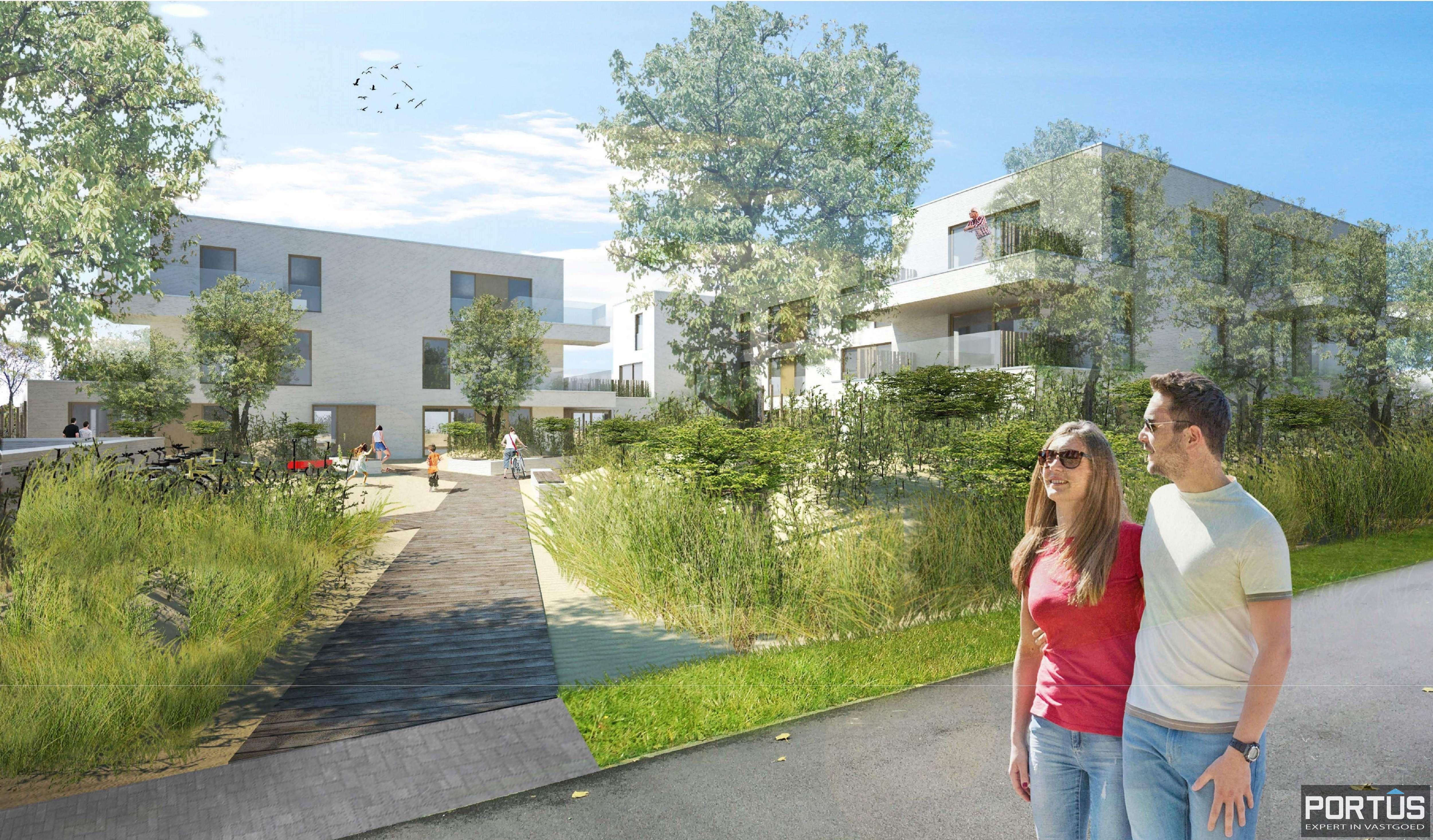 Nieuwbouwappartement te koop residentie Villa Duchamp - 9854