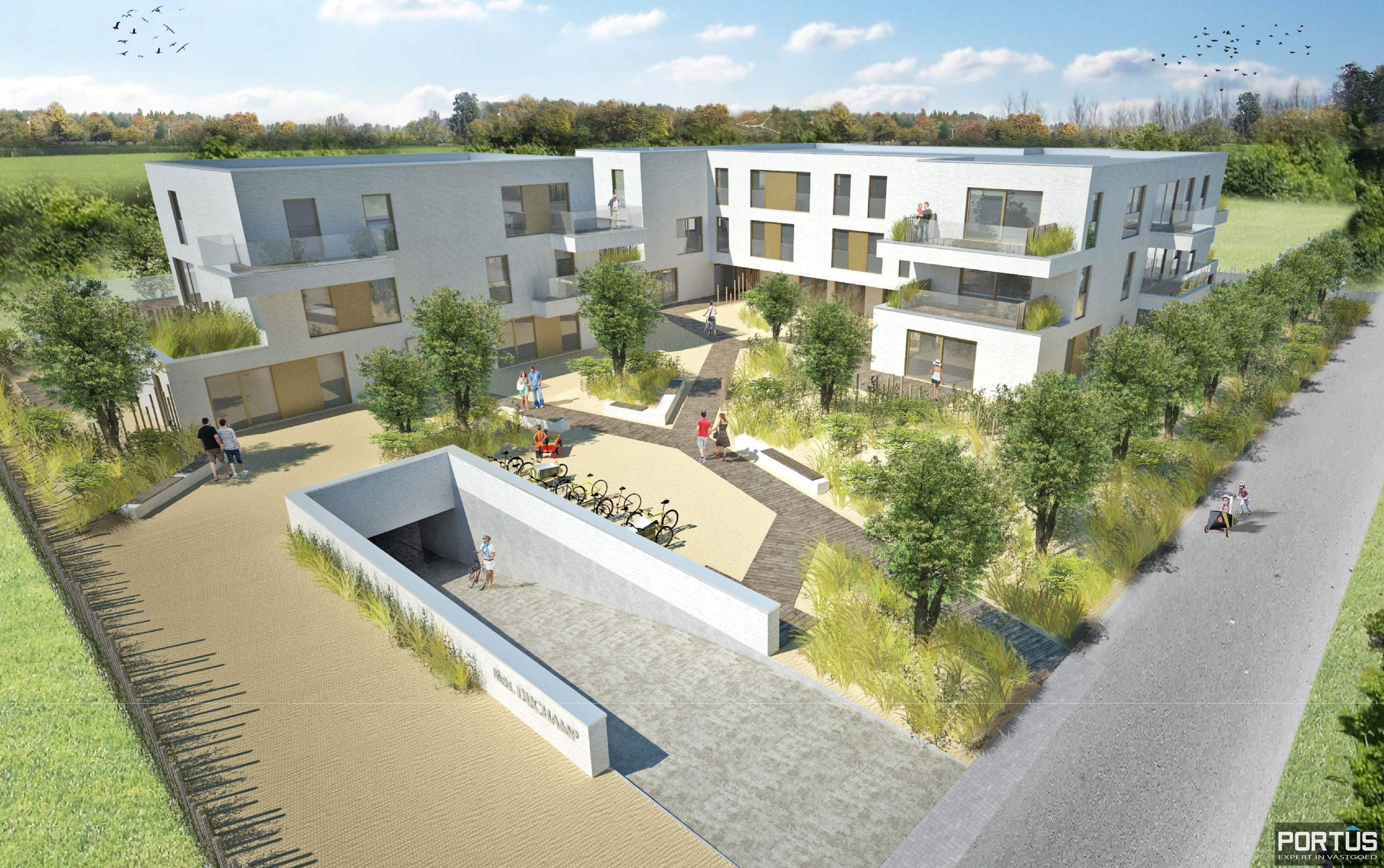 Nieuwbouwappartement te koop residentie Villa Duchamp - 9855