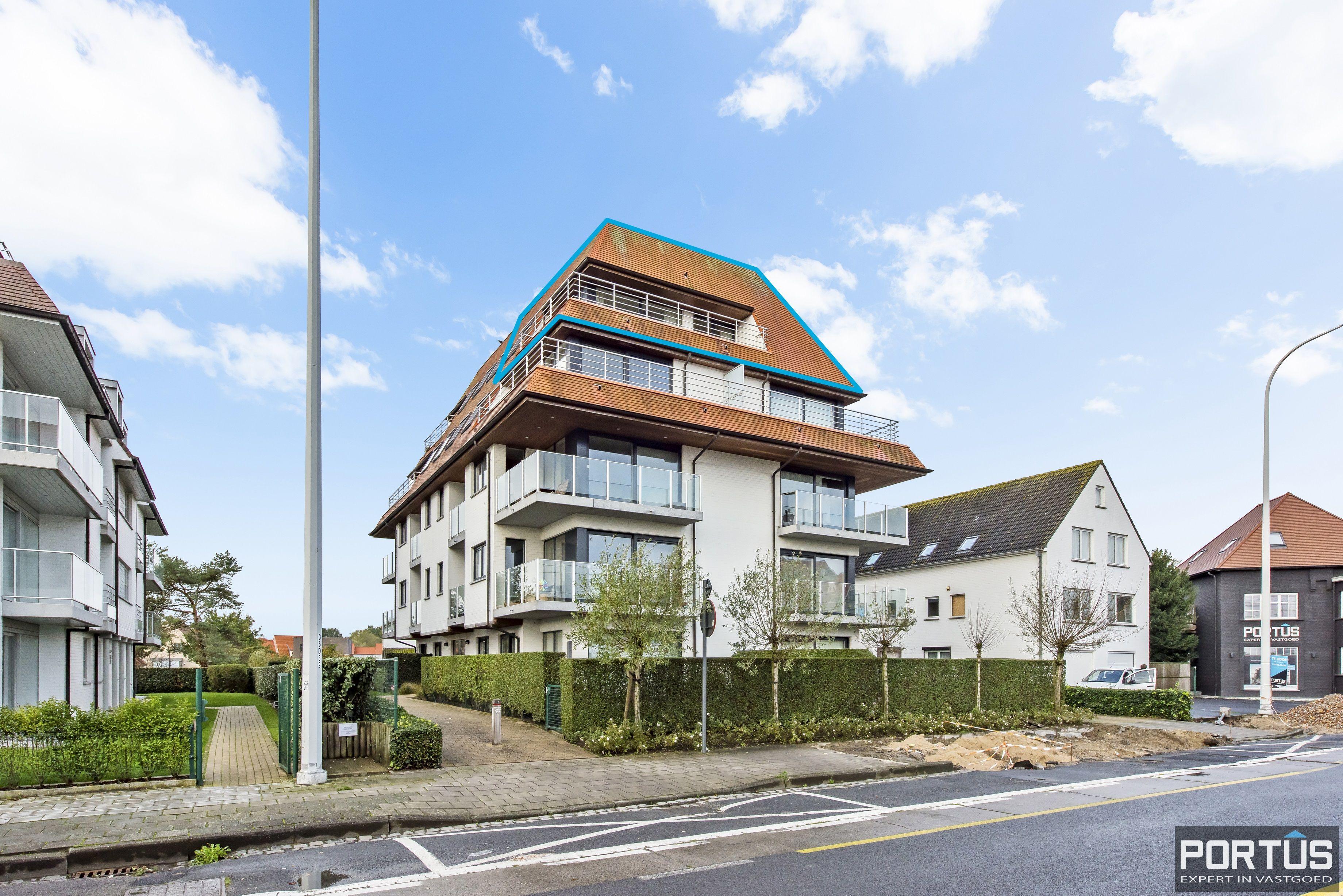 Instapklaar zongericht appartement met 2 slaapkamers te koop in Nieuwpoort - 10011