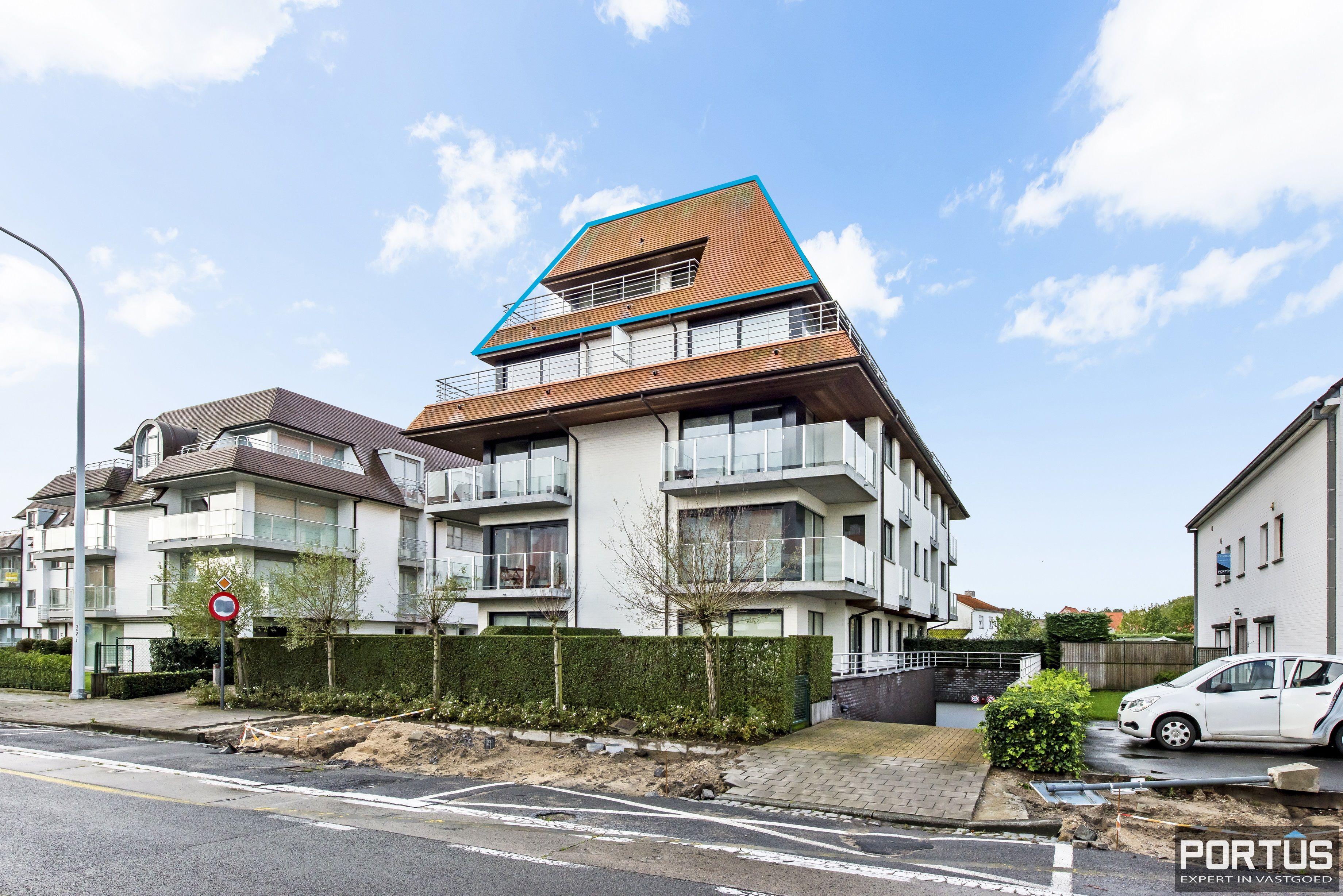 Instapklaar zongericht appartement met 2 slaapkamers te koop in Nieuwpoort