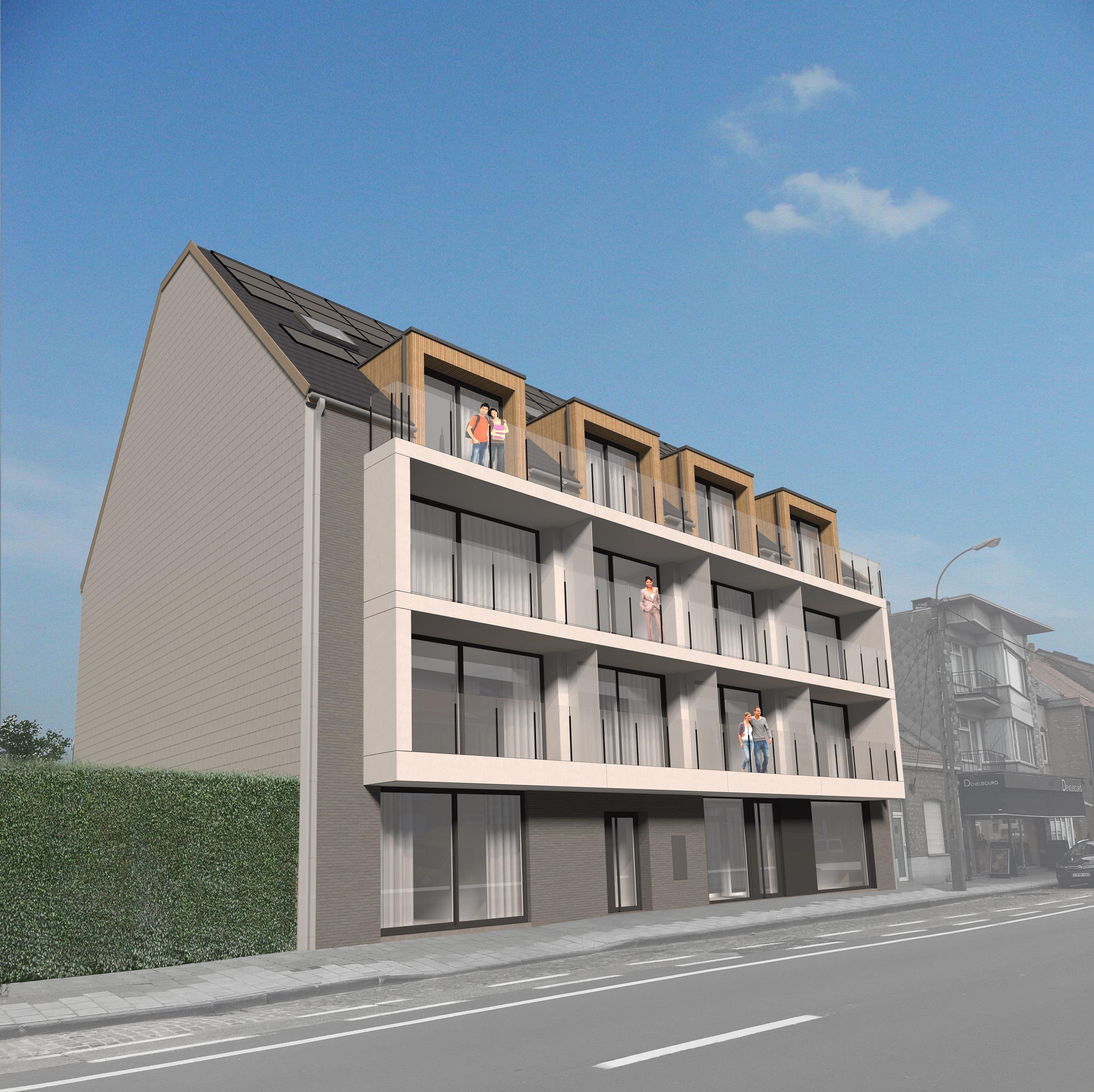 Nieuwbouwappartement met 1 slaapkamer te huur - 10549