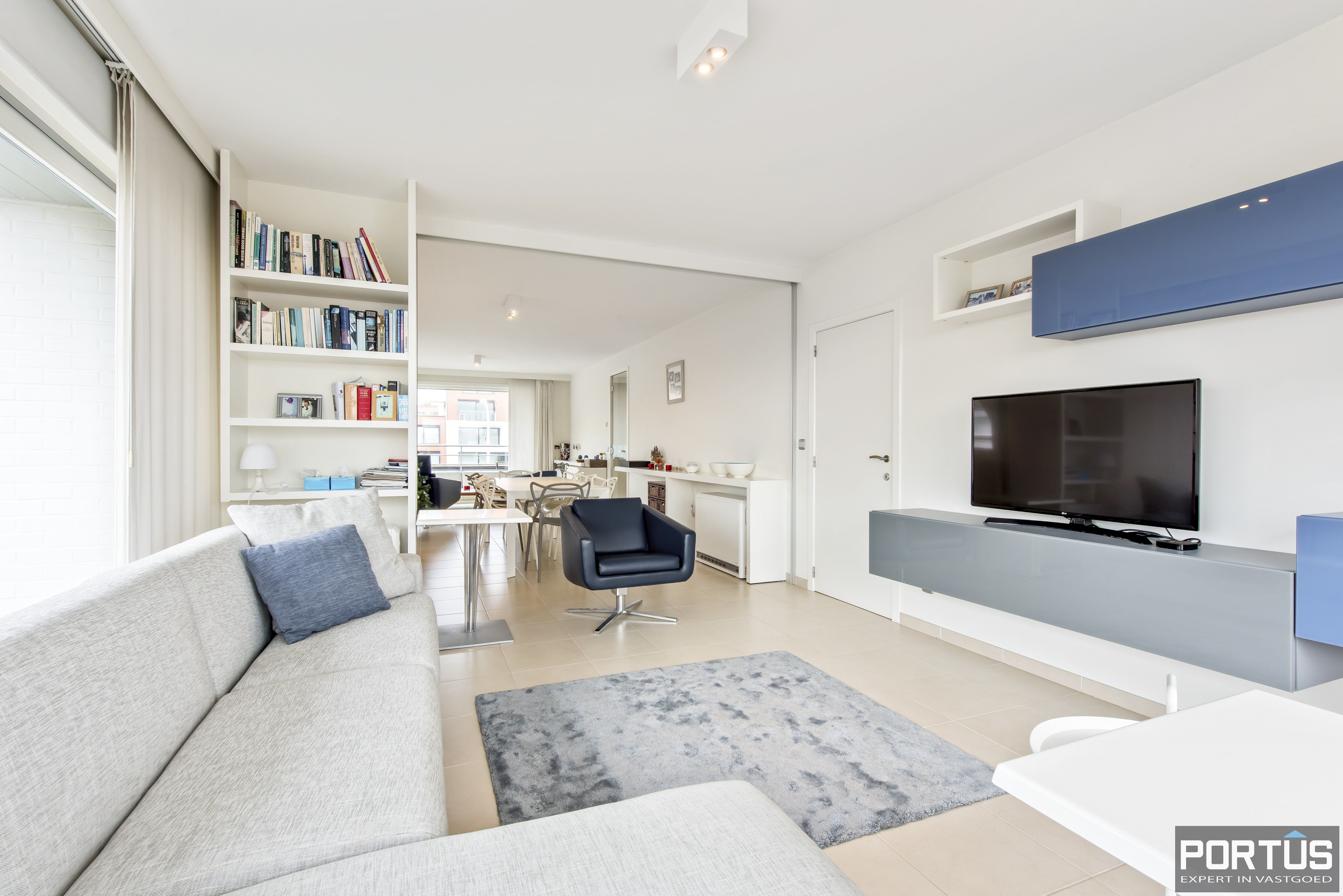 Zongericht appartement met 2 slaapkamers te koop