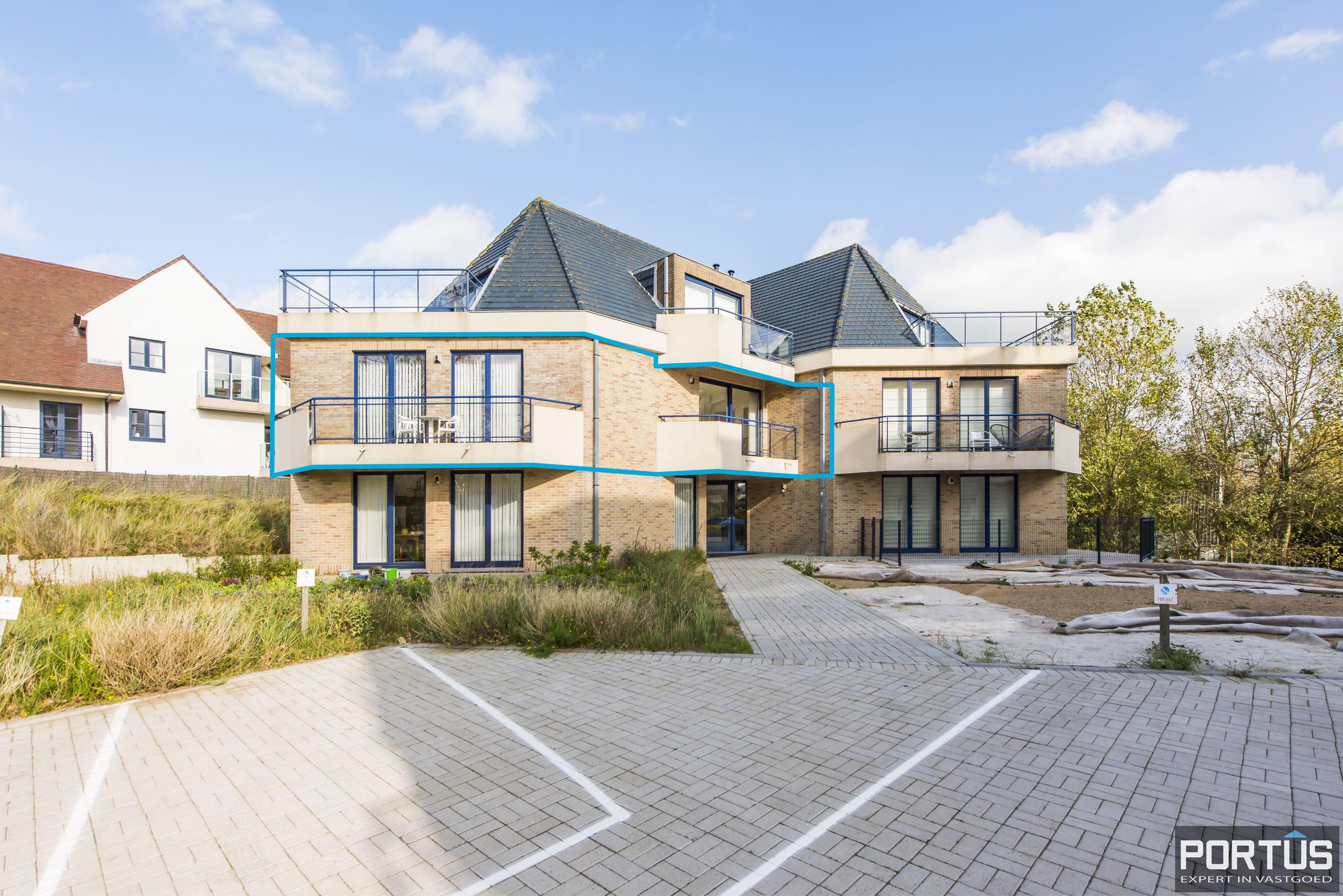 Zongericht en rustig gelegen appartement met 3 slaapkamers te koop te Oostduinkerke - 10698