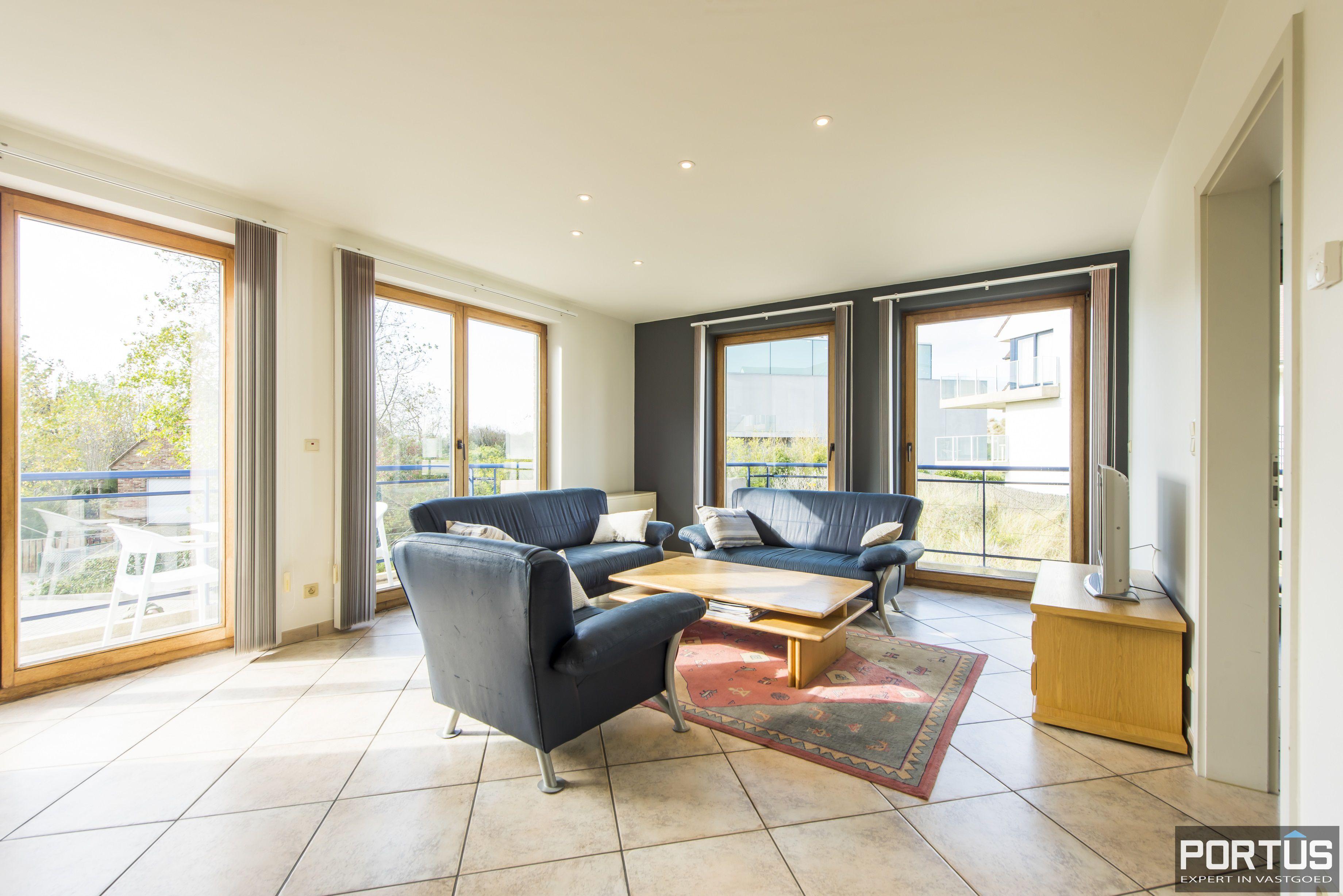 Zongericht en rustig gelegen appartement met 3 slaapkamers te koop te Oostduinkerke - 10699