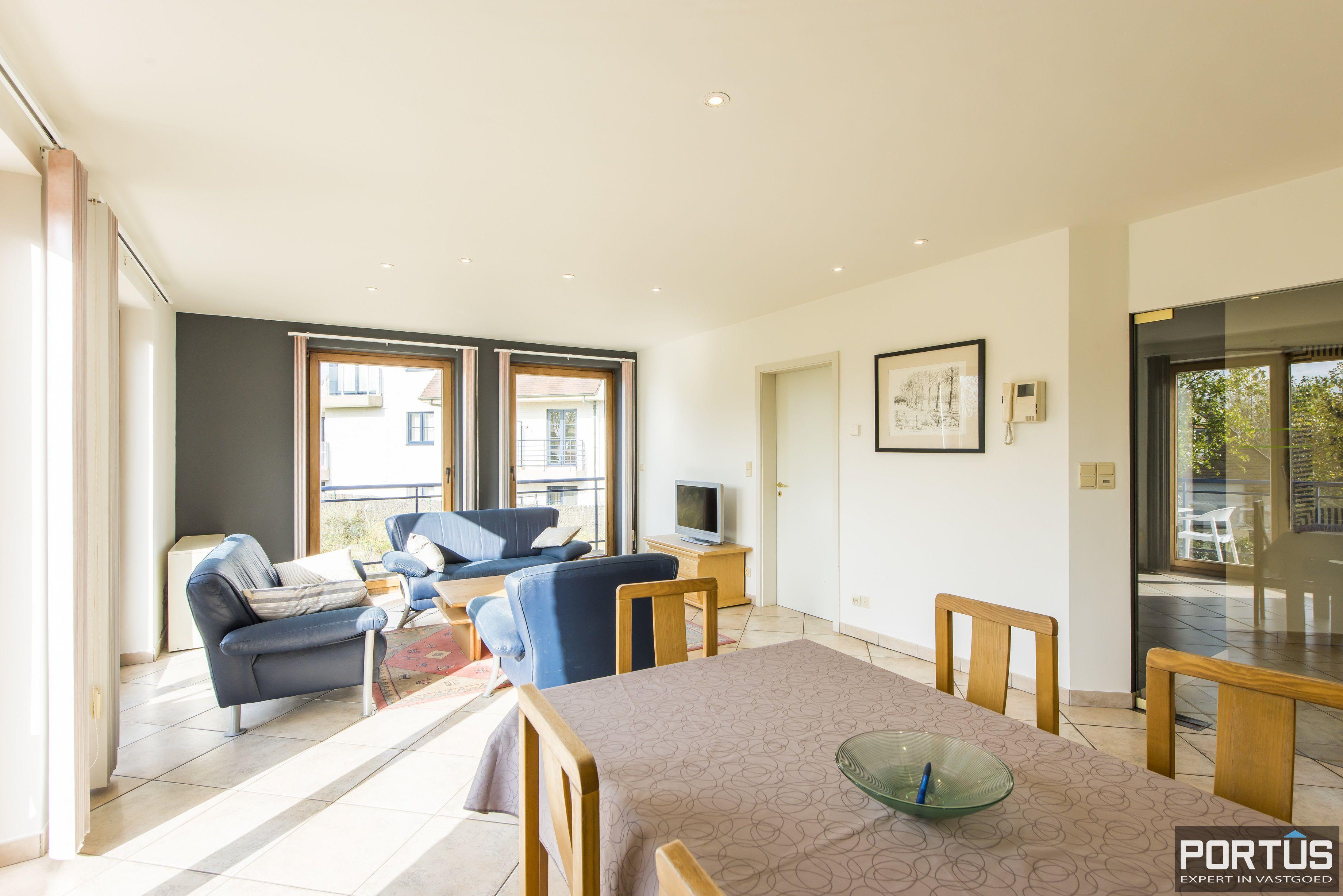 Zongericht en rustig gelegen appartement met 3 slaapkamers te koop te Oostduinkerke - 10703