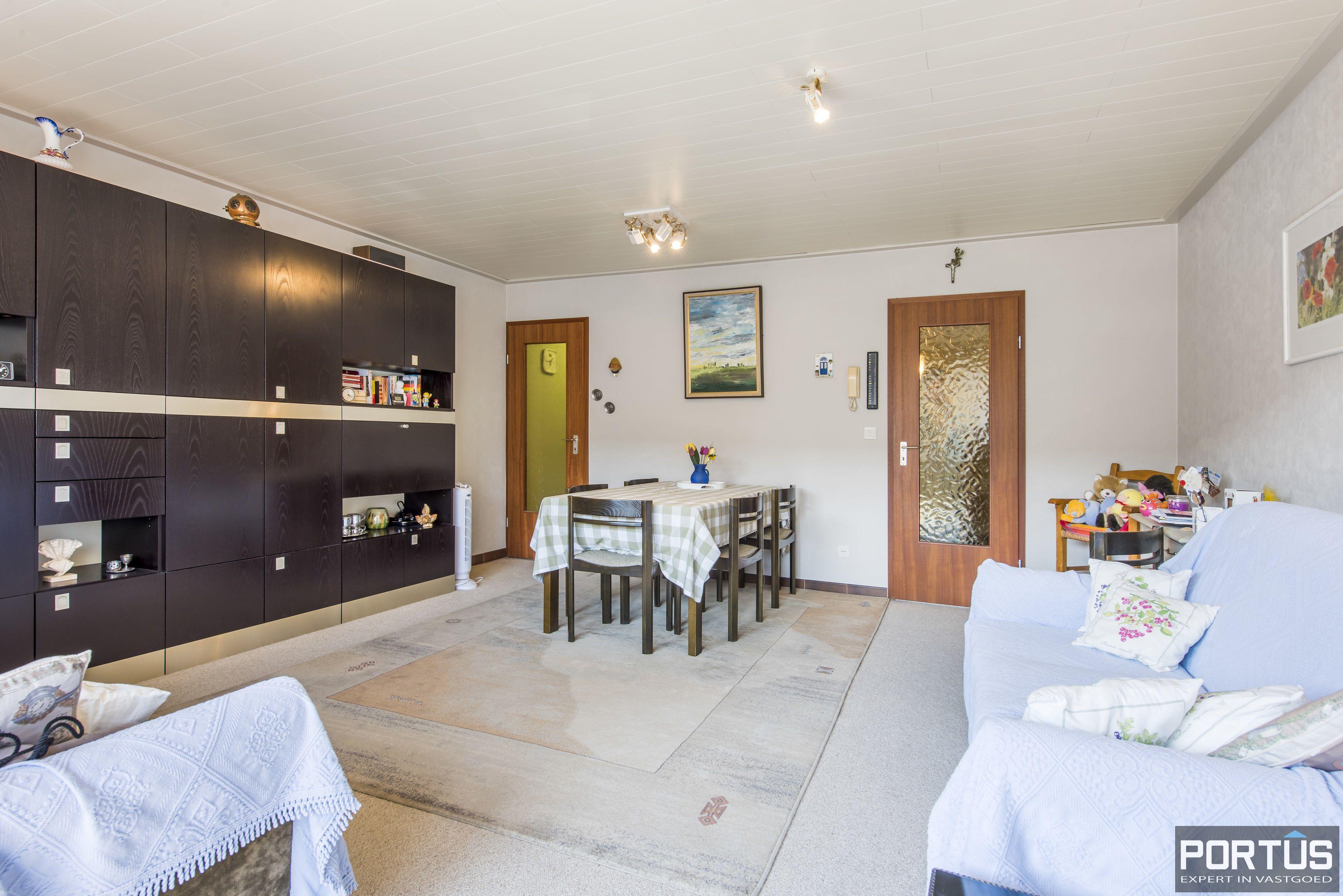 Studio met ruime leefruimte en zongericht terras te koop te Nieuwpoort