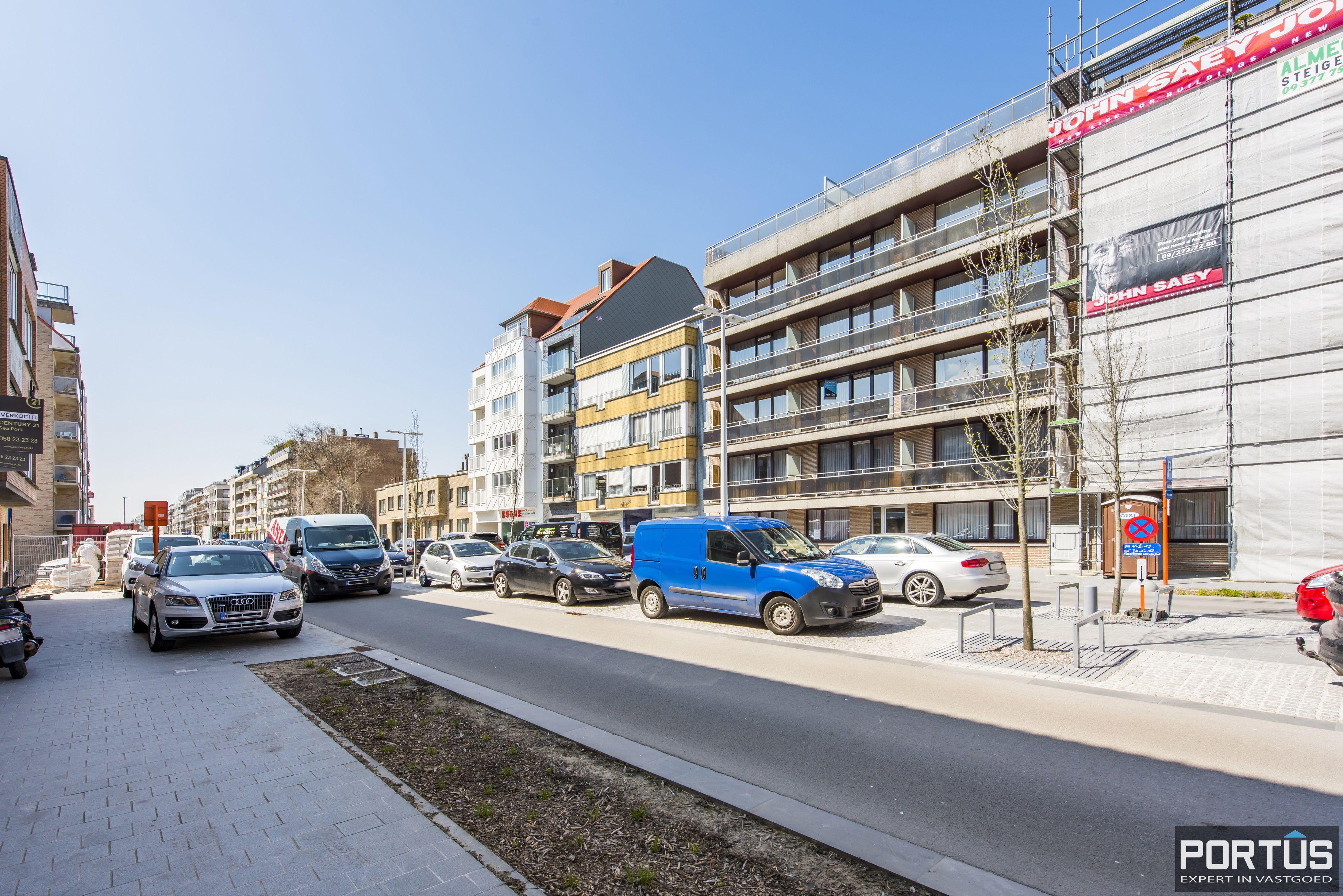 Studio met ruime leefruimte en zongericht terras te koop te Nieuwpoort - 10712