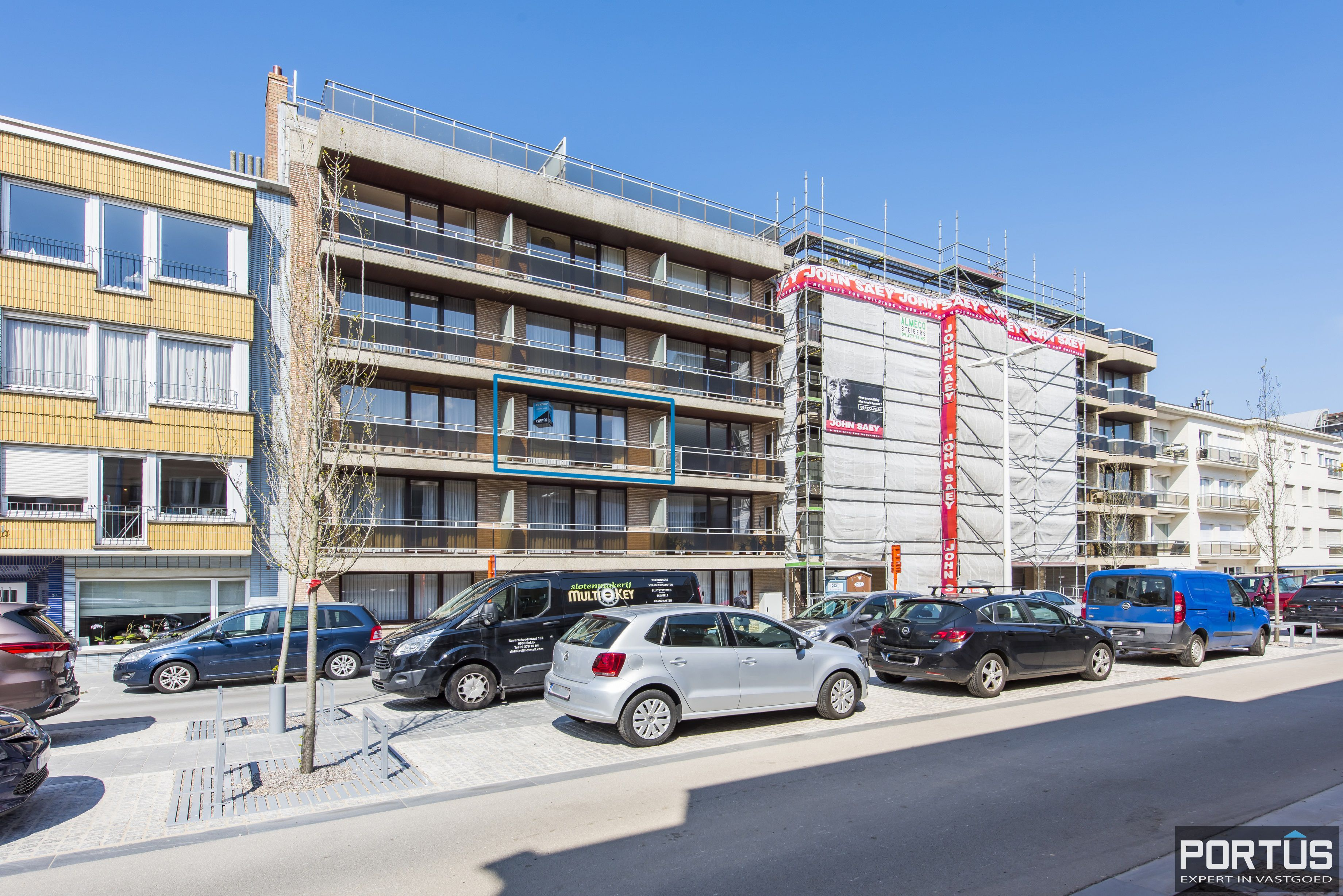 Studio met ruime leefruimte en zongericht terras te koop te Nieuwpoort - 10715