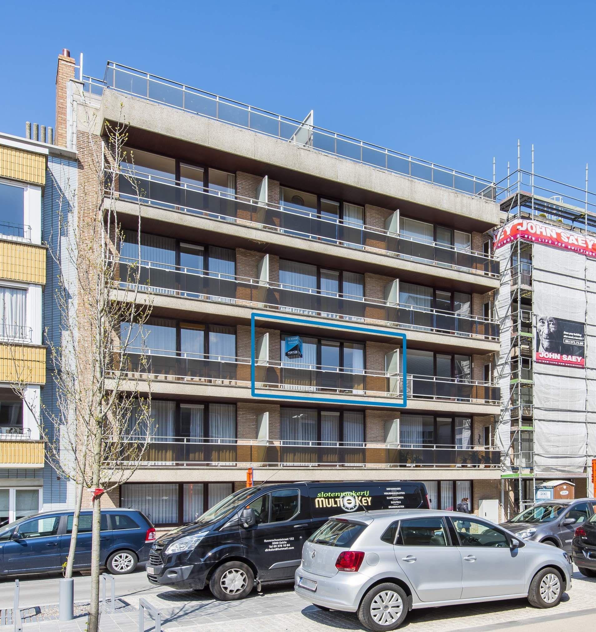 Studio met ruime leefruimte en zongericht terras te koop te Nieuwpoort - 10722