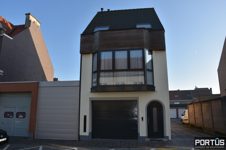 Woning te huur met 2 slaapkamers en dubbele garage in Nieuwpoort-stad